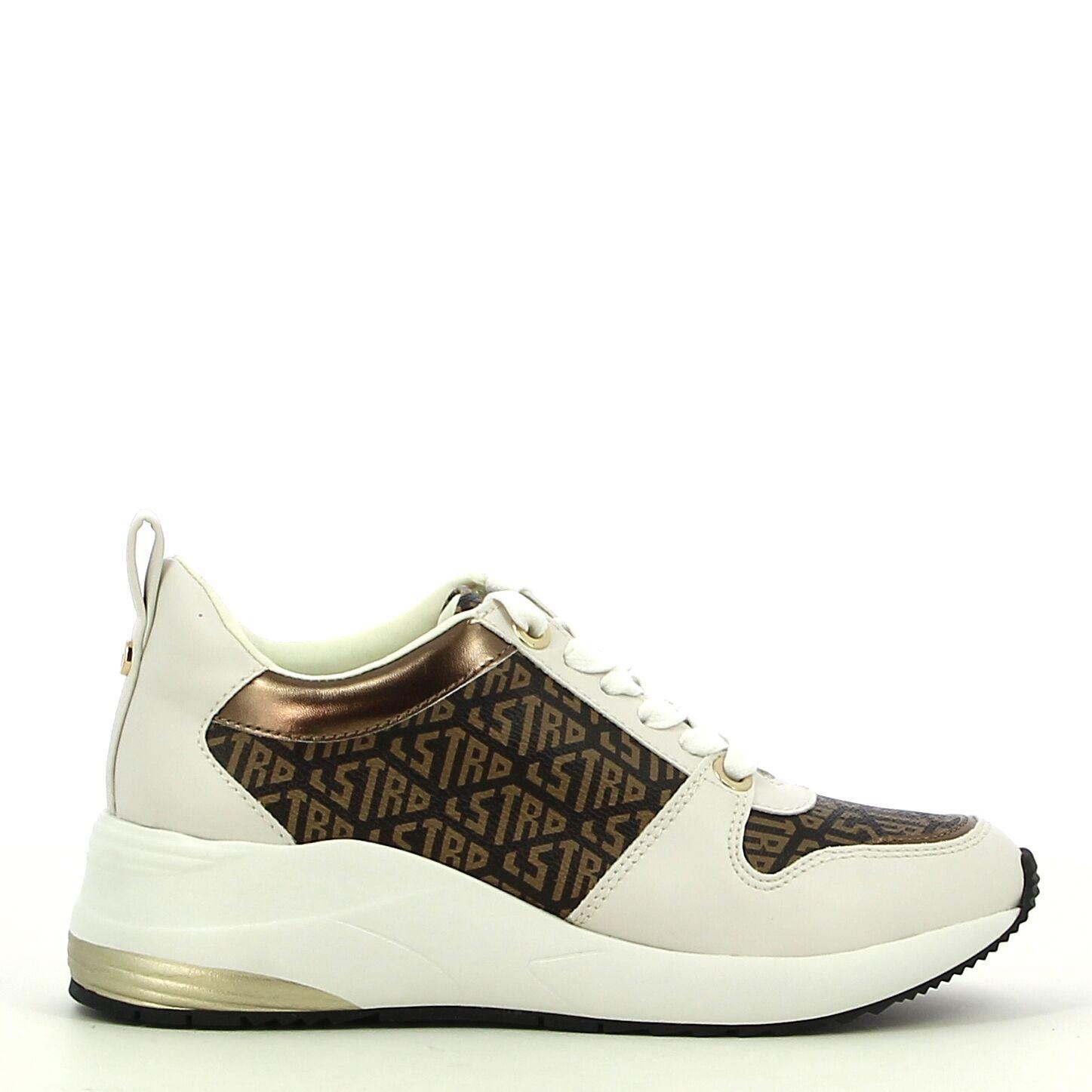 La Strada - Wit/Bruin - Sneakers