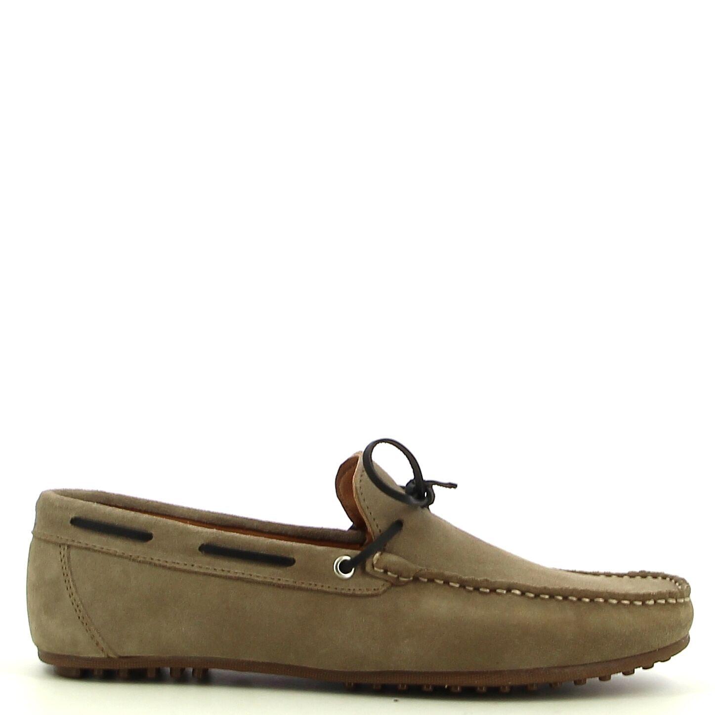 Ken Shoe Fashion - Taupe  - Mocassins