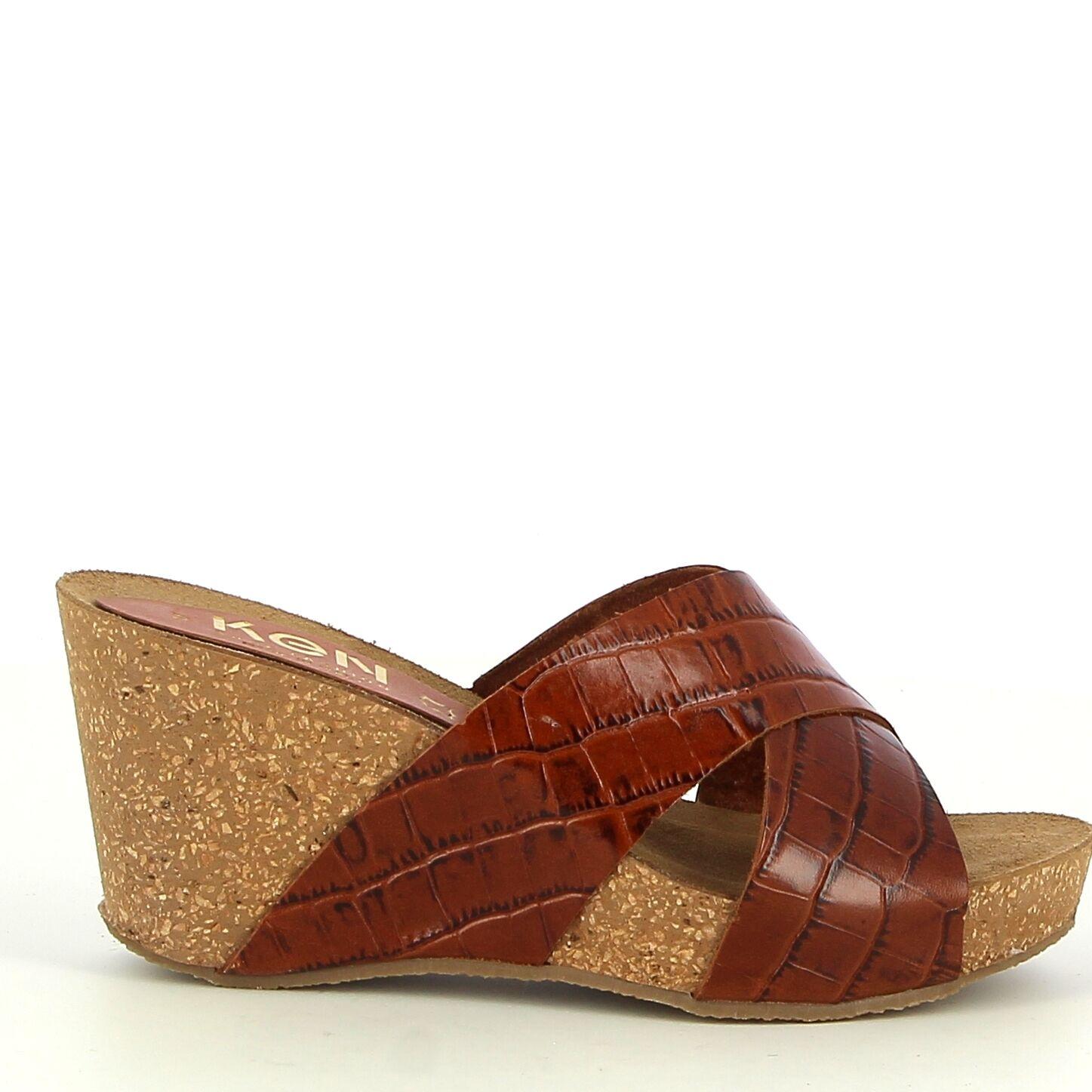 Ken Shoe Fashion - Camel - Instappers