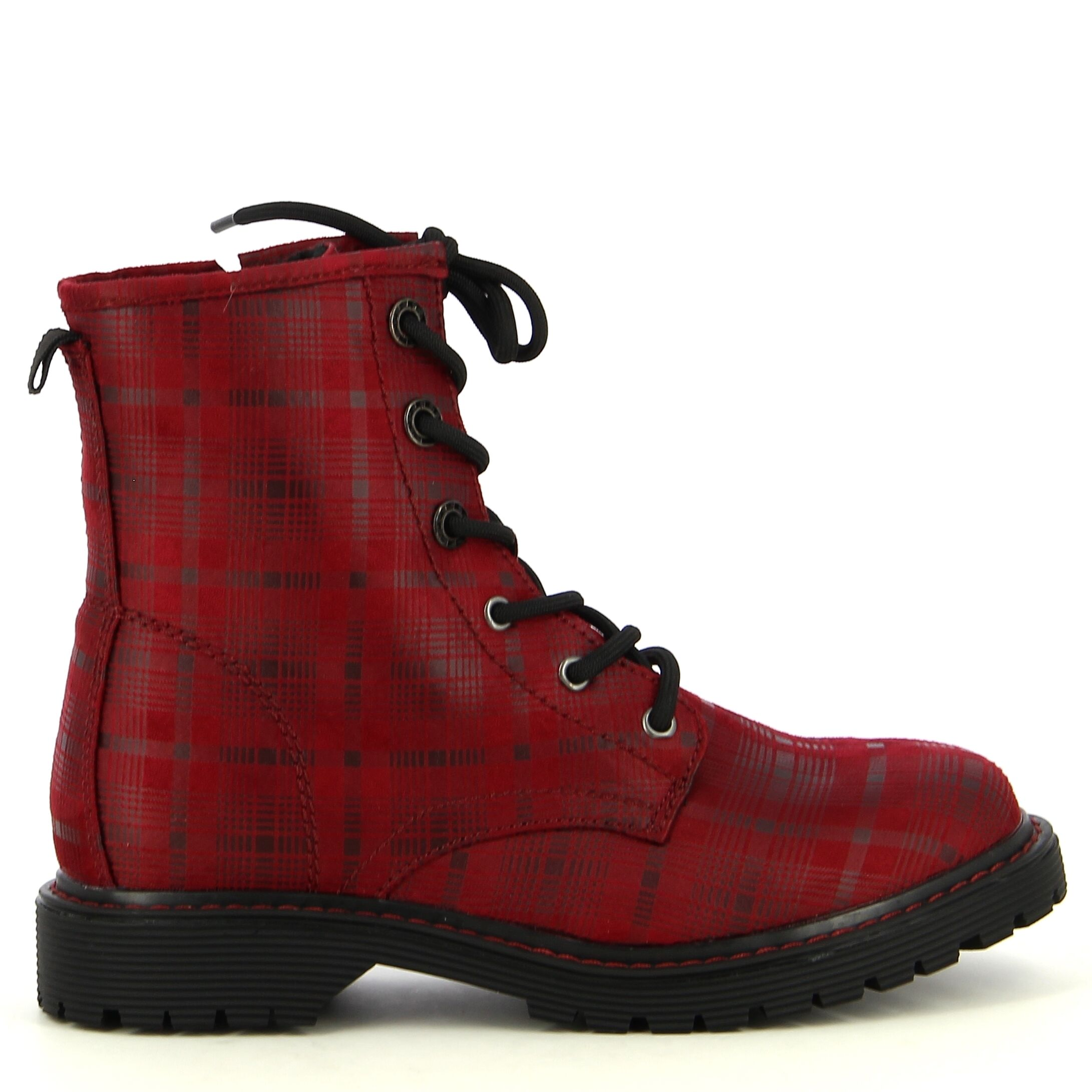Ken Shoe Fashion - Rouge - Bottines