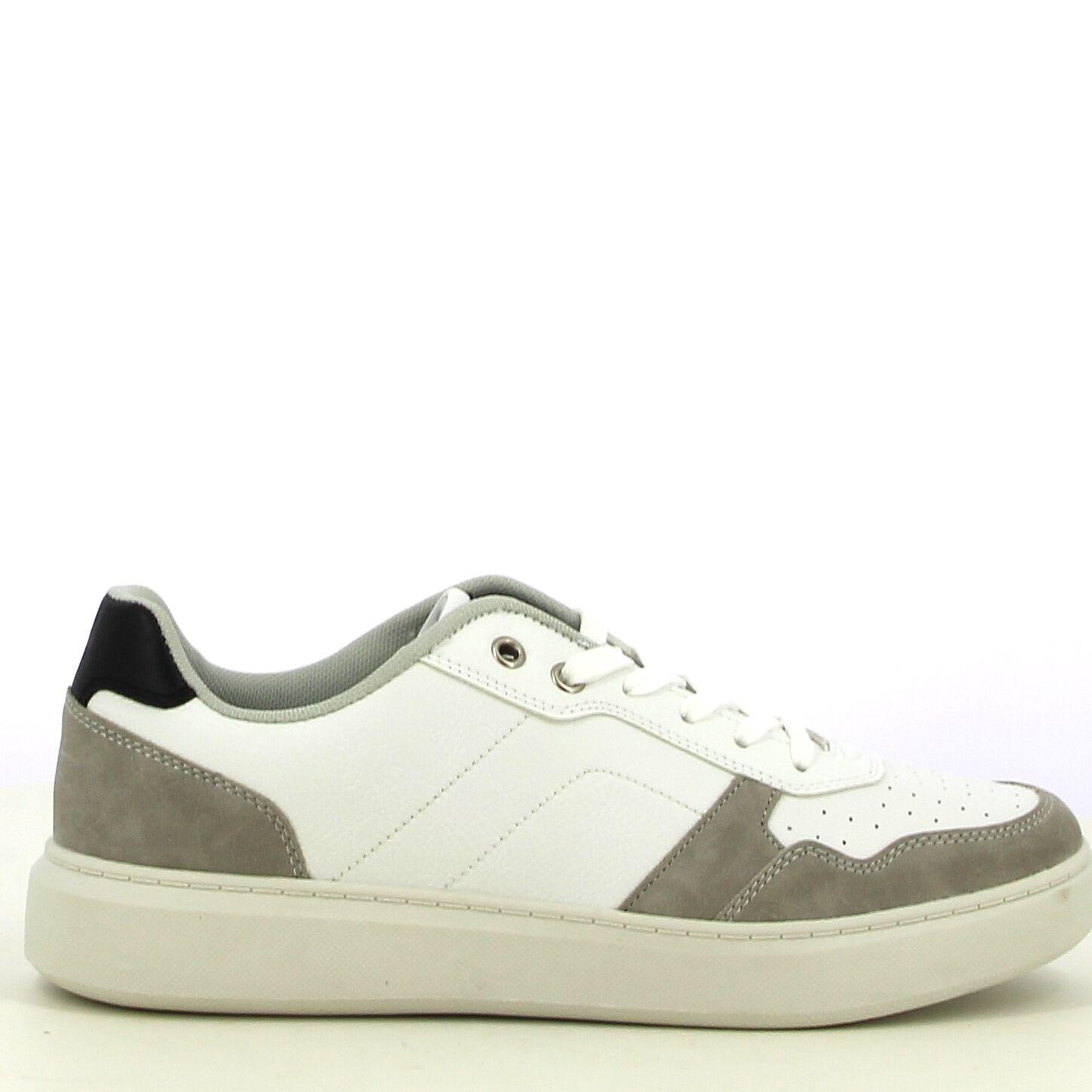 Ken Shoe Fashion - Wit/Grijs - Sneakers