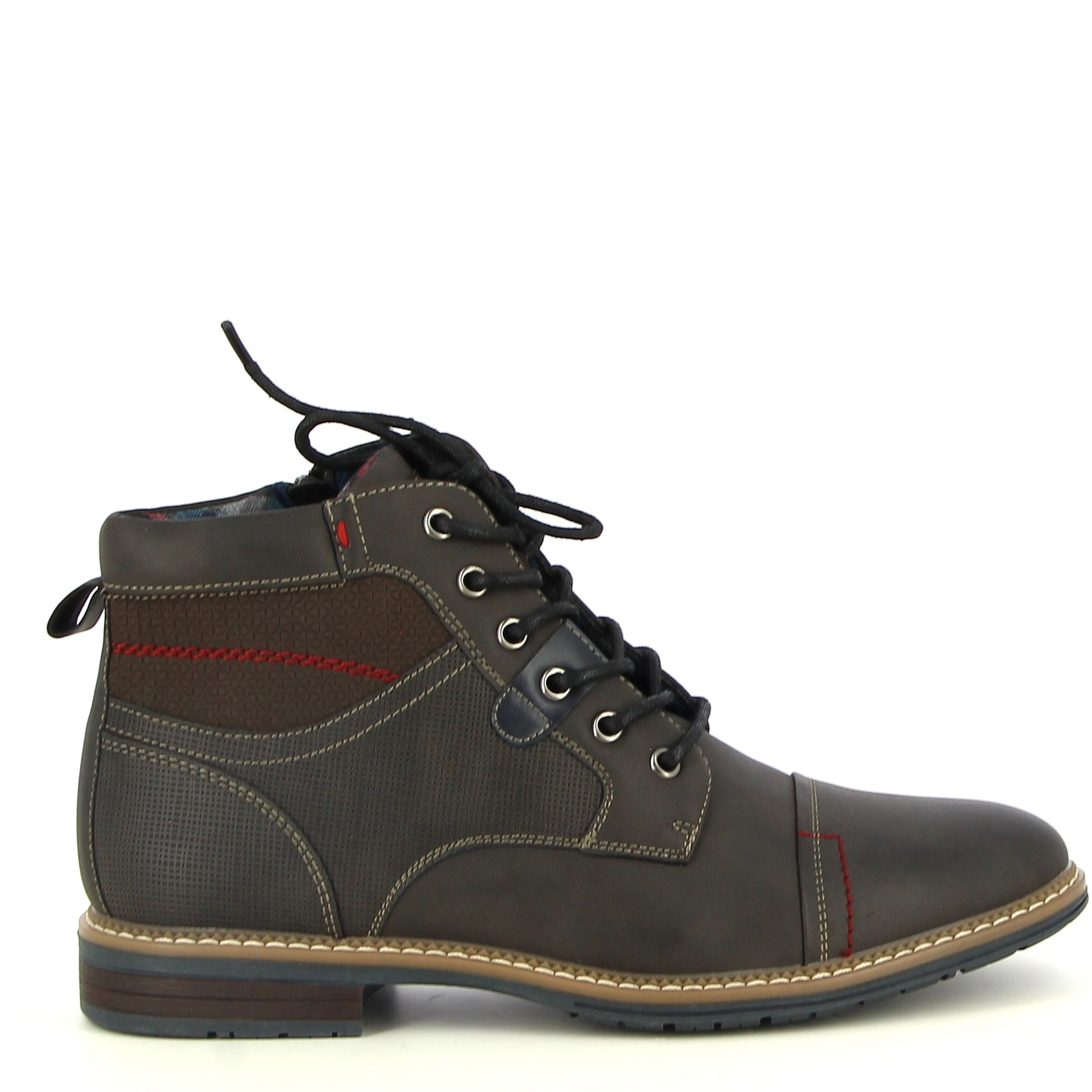 Ken Shoe Fashion - Grijs - Veterschoenen