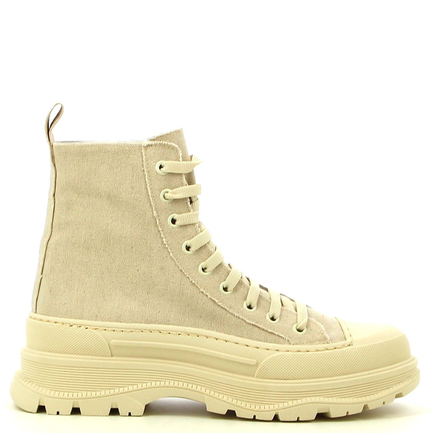Ken Shoe Fashion - Beige -Enkellaarzen/ boots