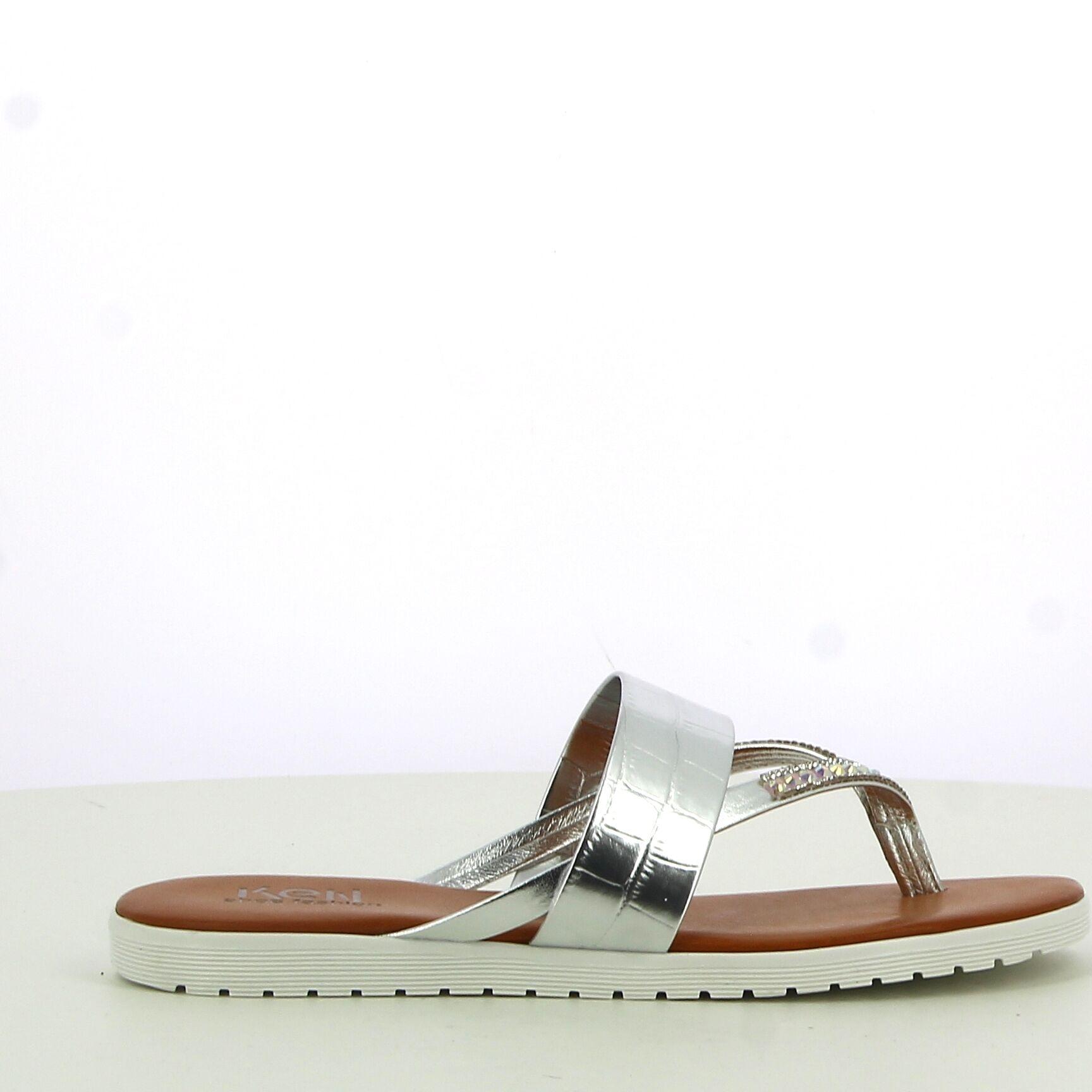 Ken Shoe Fashion - Zilver - Teenslippers