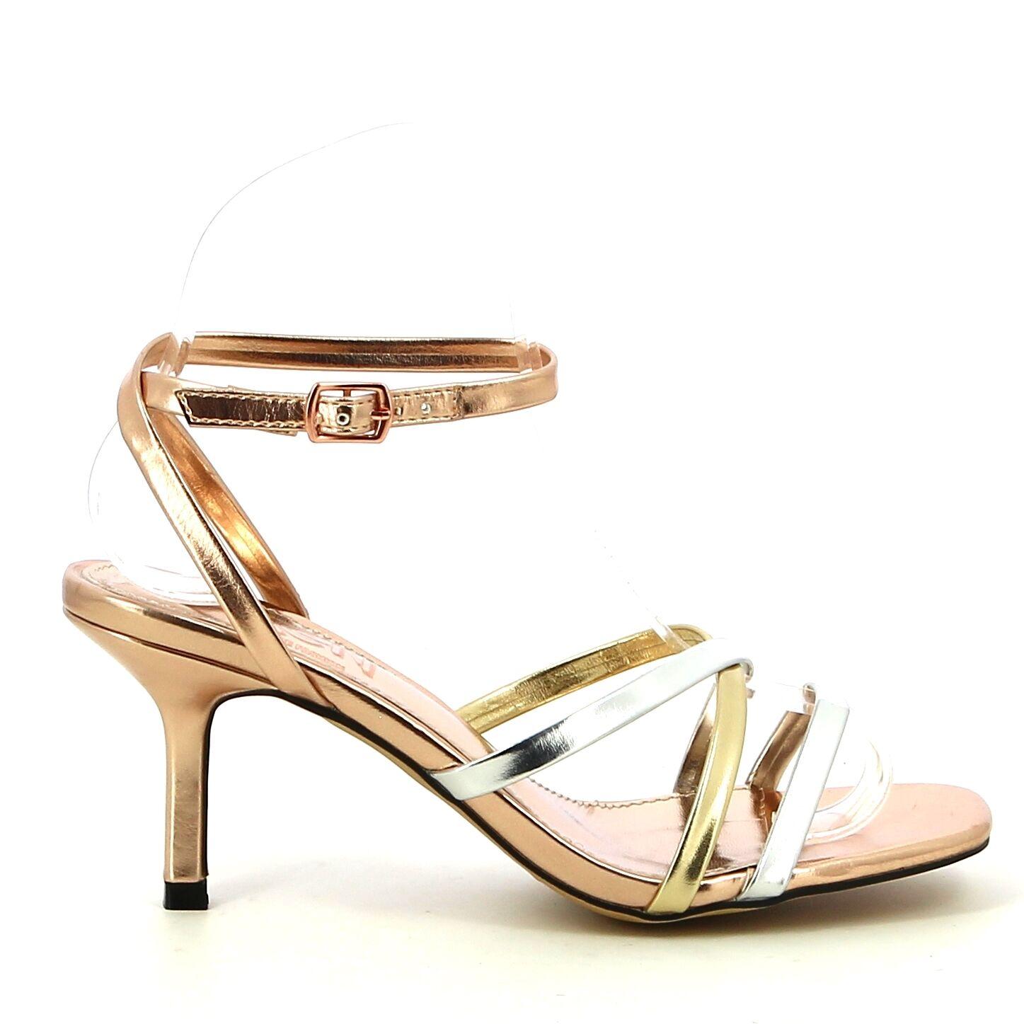Ken Shoe Fashion - Metal/Multi - Sandalen