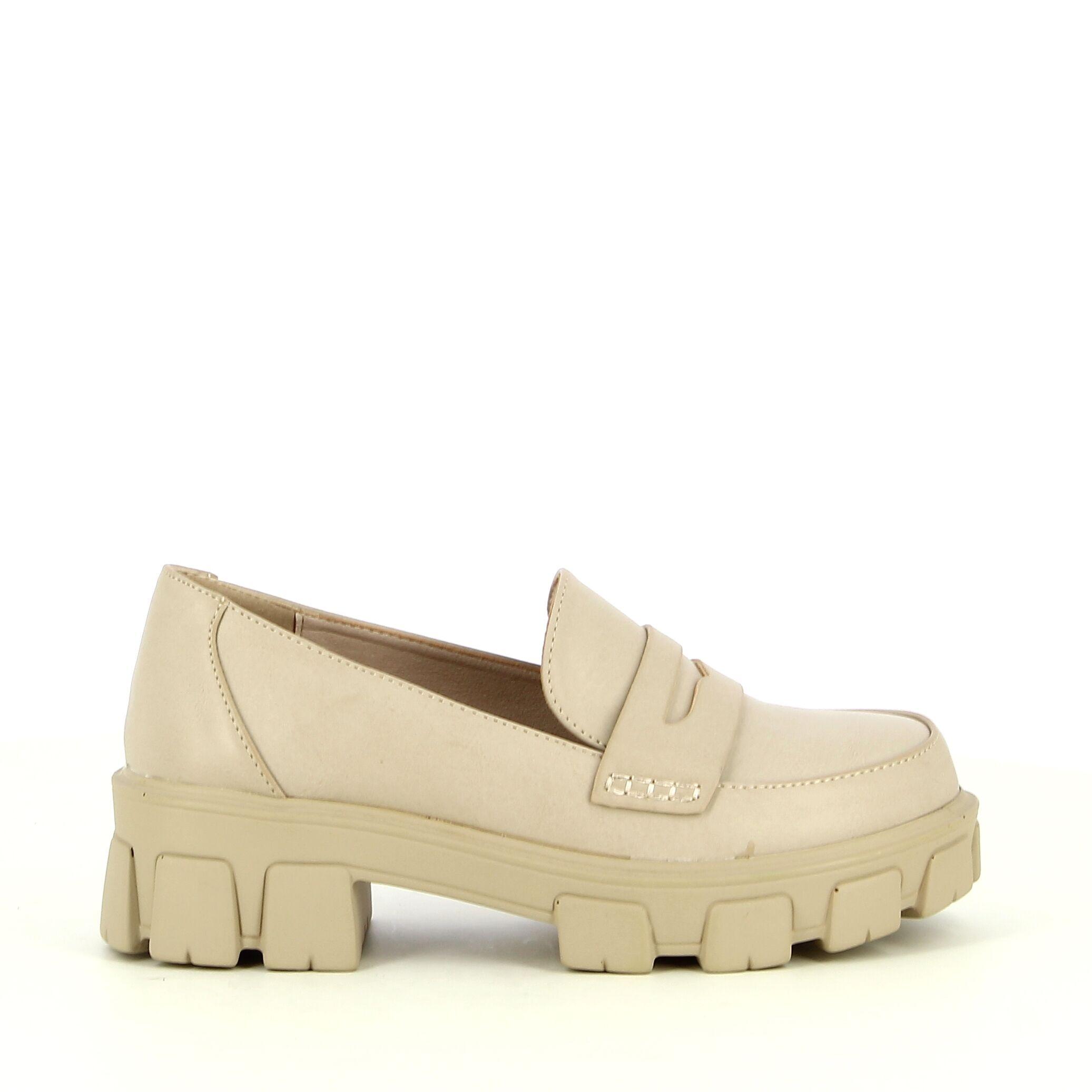 Ken Shoe Fashion - Beige - Instappers / Mocassins