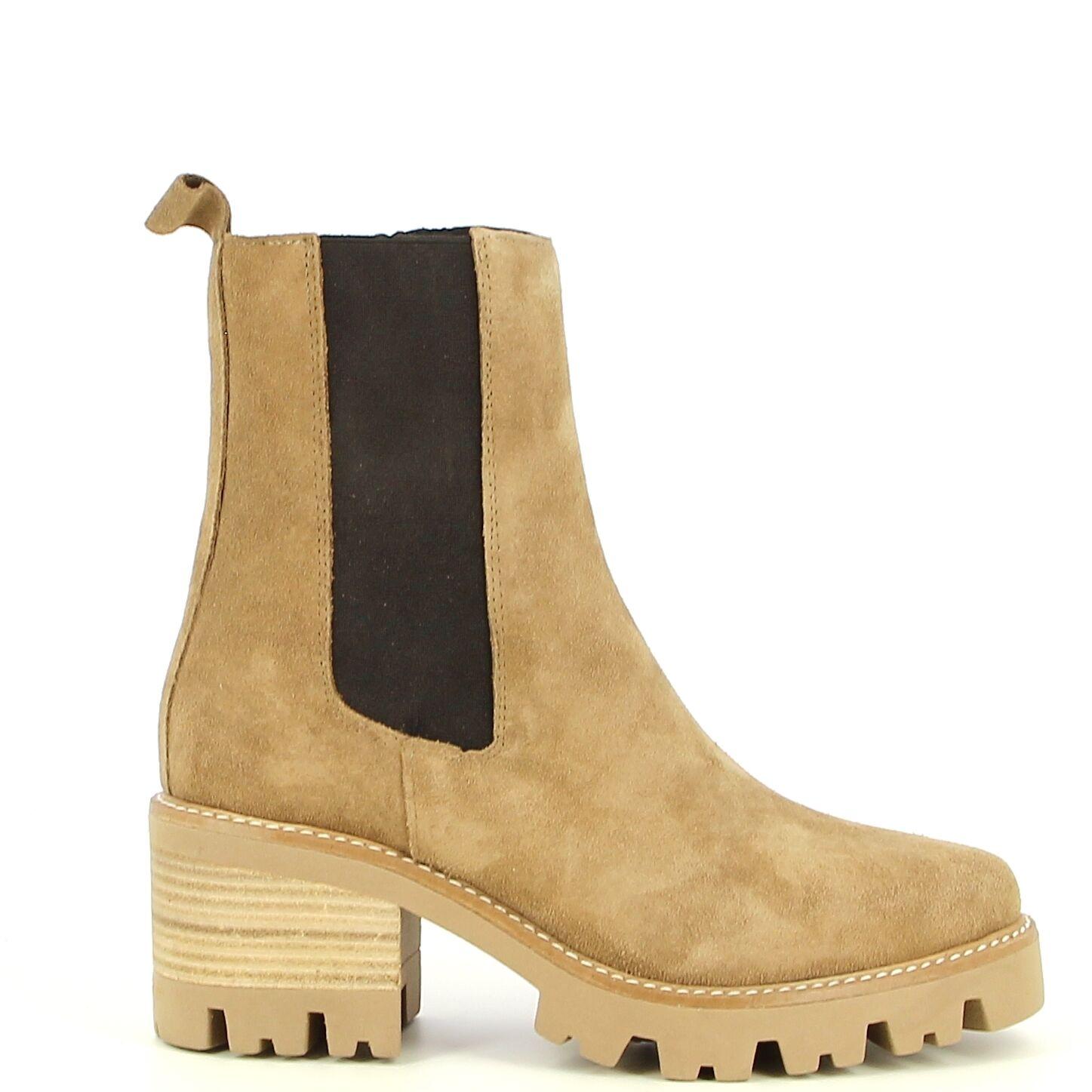 Ken Shoe Fashion - Beige - Bottines