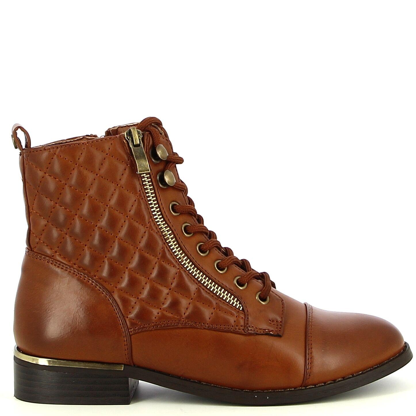 Ken Shoe Fashion - Camel - Boots