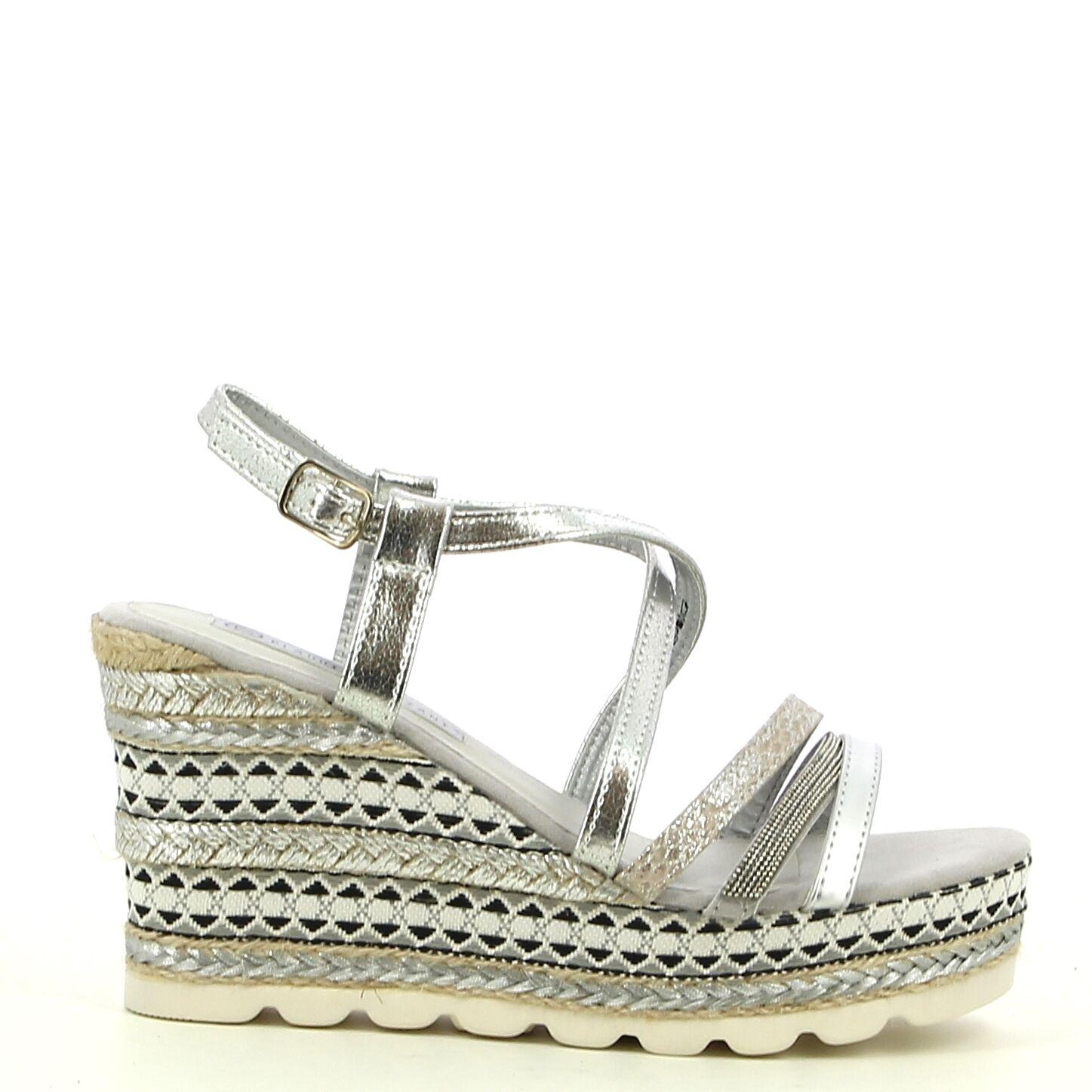 Ken Shoe Fashion - Zilver - Sandalen