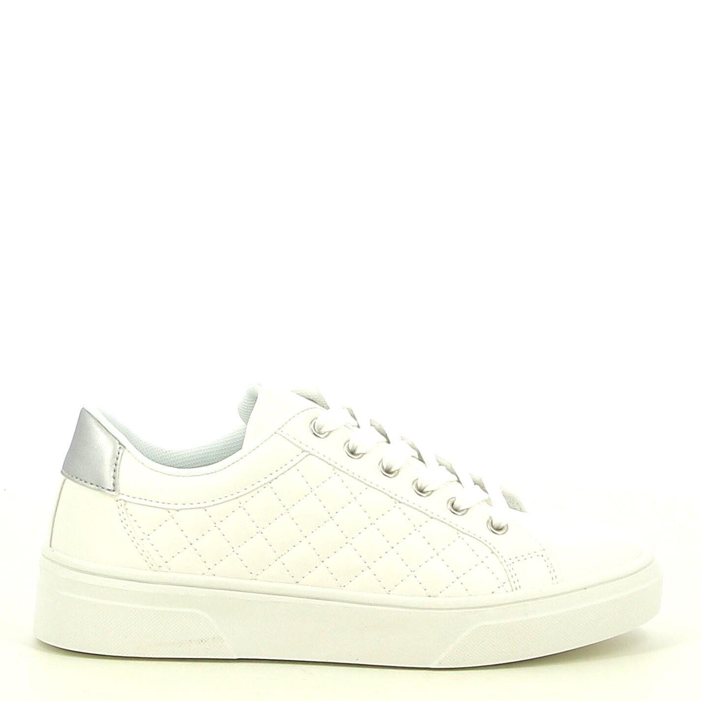 Ken Shoe Fashion - Blanc/Arganté - Baskets