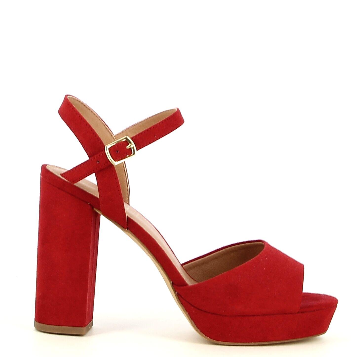 Ken Shoe Fashion - Rood - Sandalen
