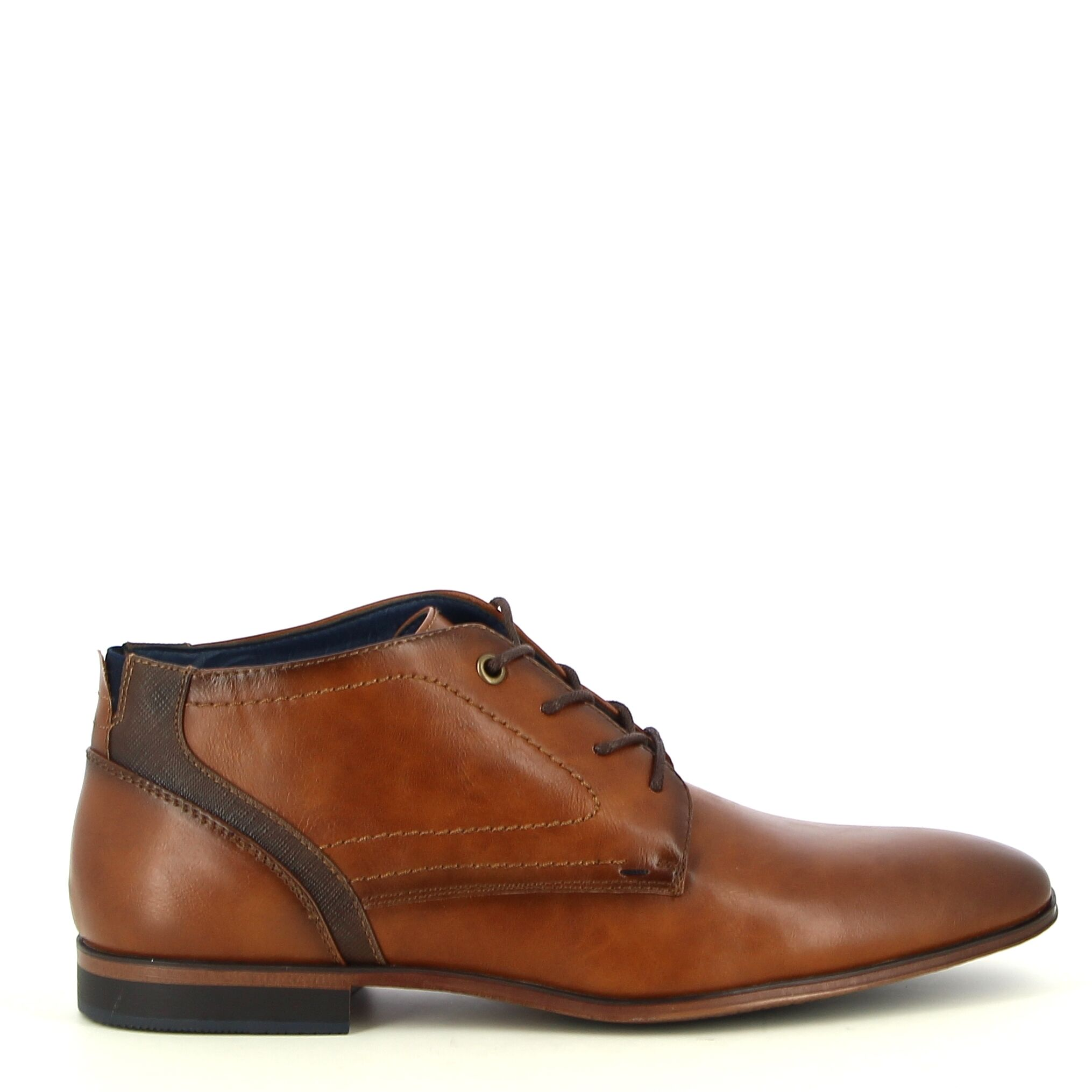 Ken Shoe Fashion - Camel - Veterschoenen