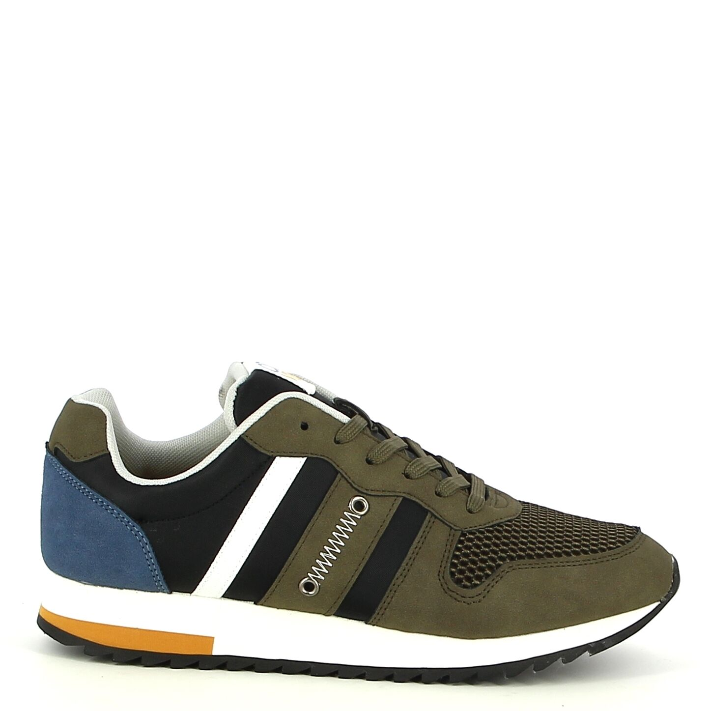 Ken Shoe Fashion - Kaki/Multi - Sneakers