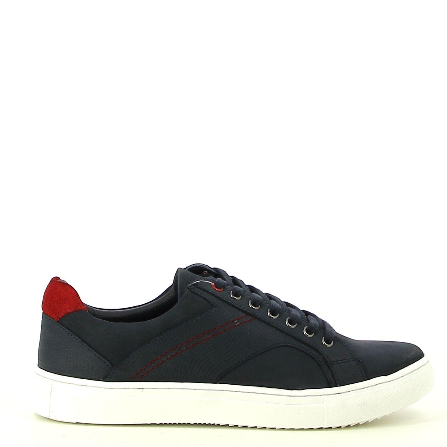 Ken Shoe Fashion - Navy/Rood - Sneakers