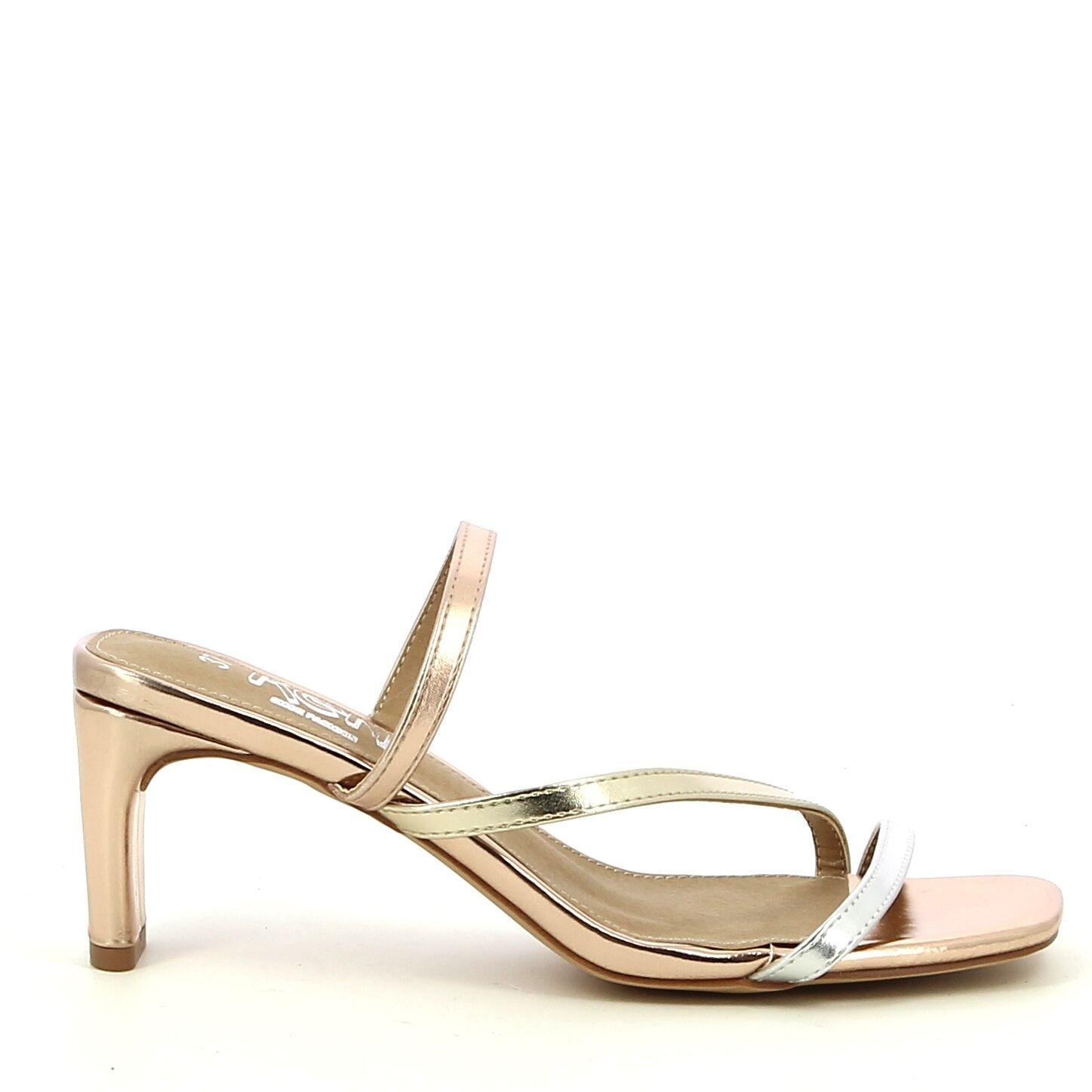 Ken Shoe Fashion - Metal/Multi - Muiltje
