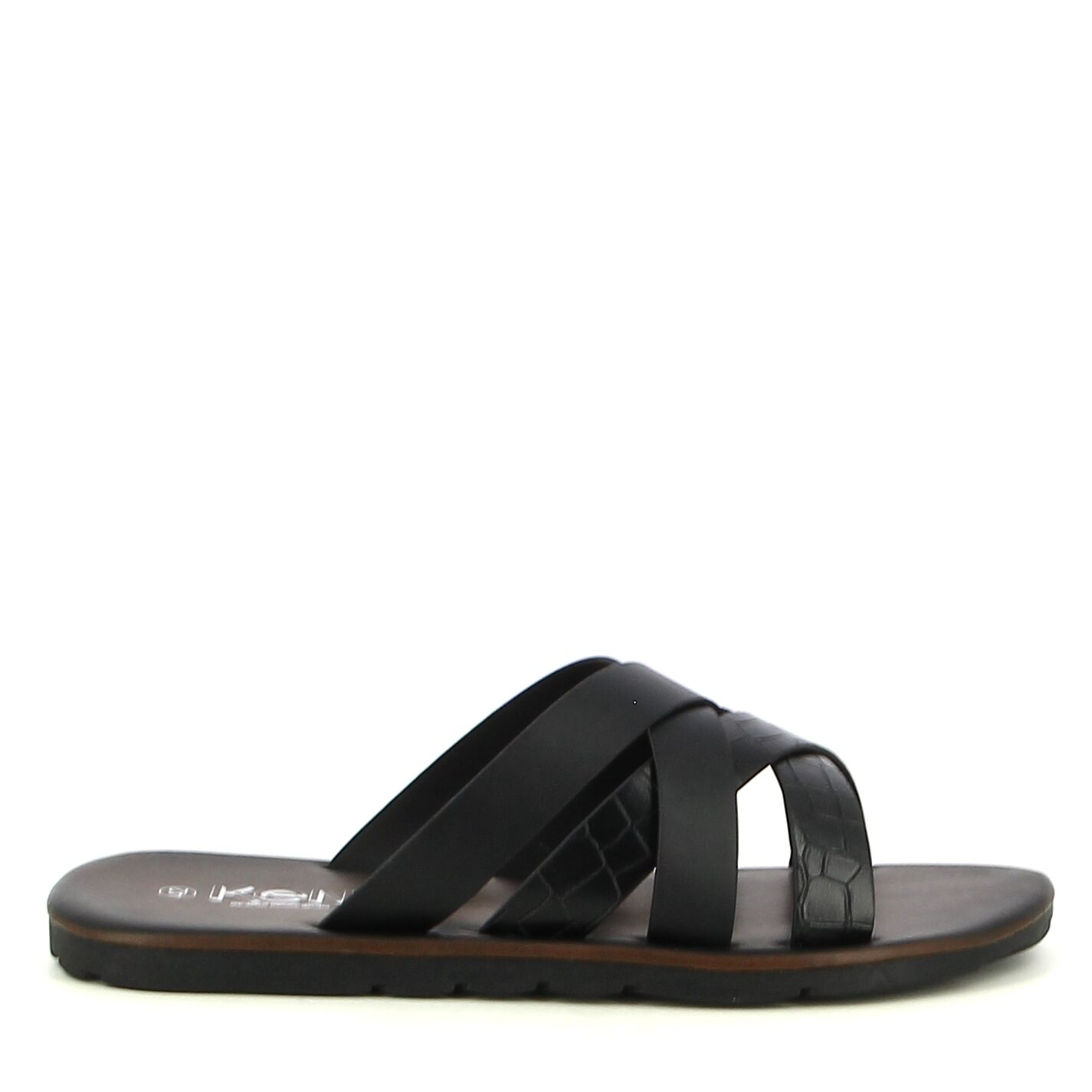 Ken Shoe Fashion - Zwart - Slippers