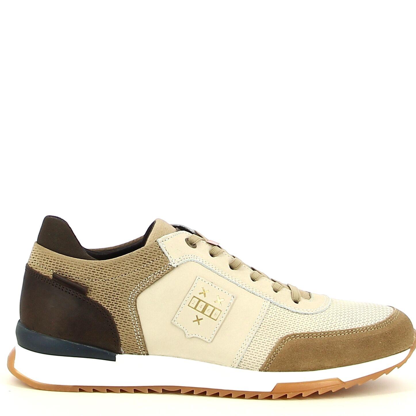 Ken Shoe Fashion  - Beige/Bruin - Sneakers