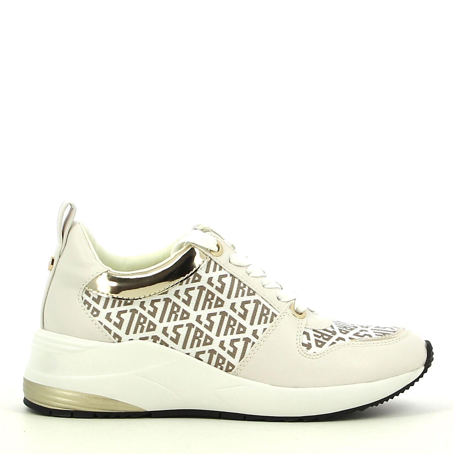 La Strada - Wit/Goud - Sneakers