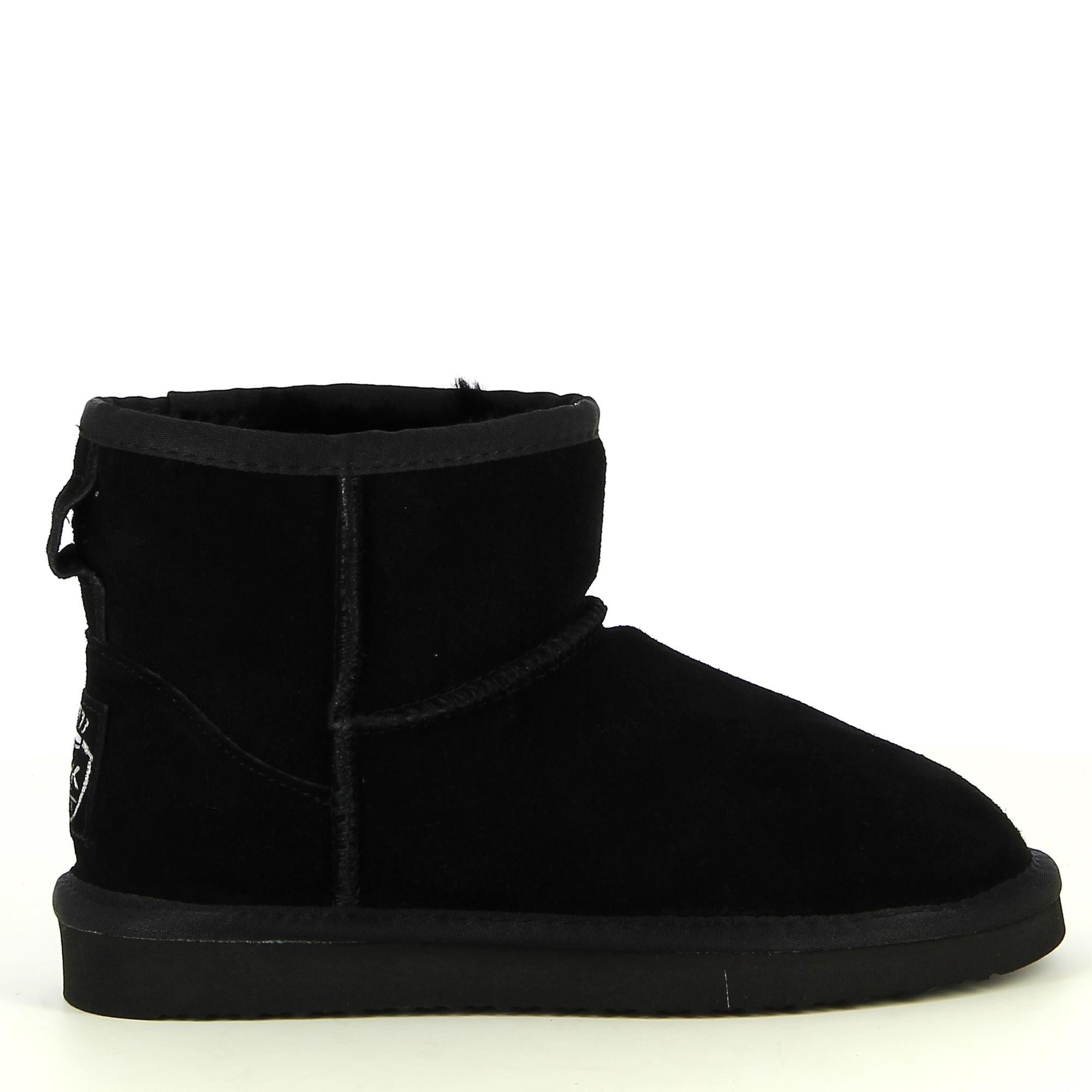 Ken Shoe Fashion - Noir - Chaussures de neige