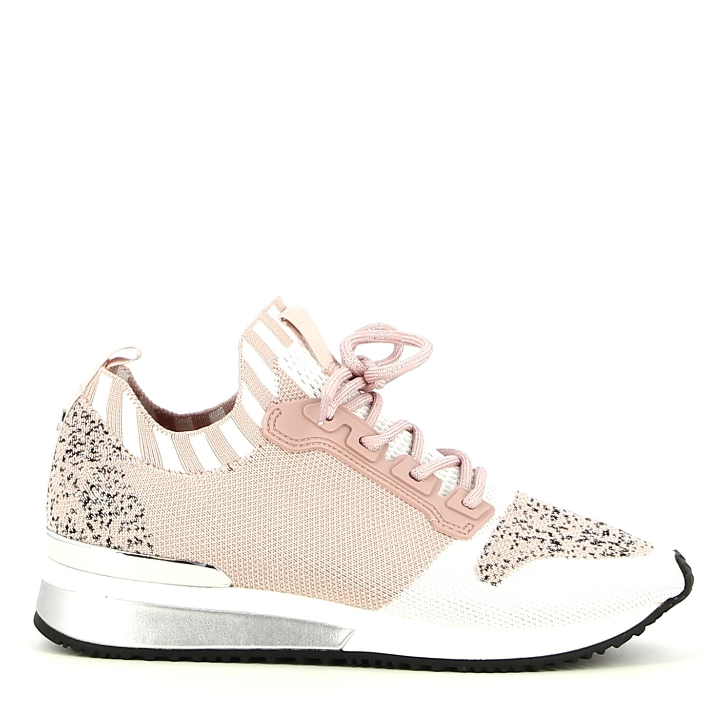 La Strada - Nude/Wit - Sneakers