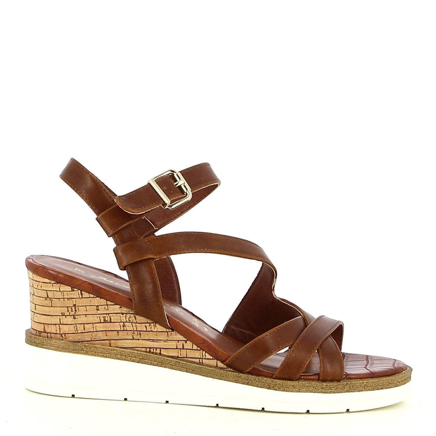 Ken Shoe Fashion - Bruin - Sandalen