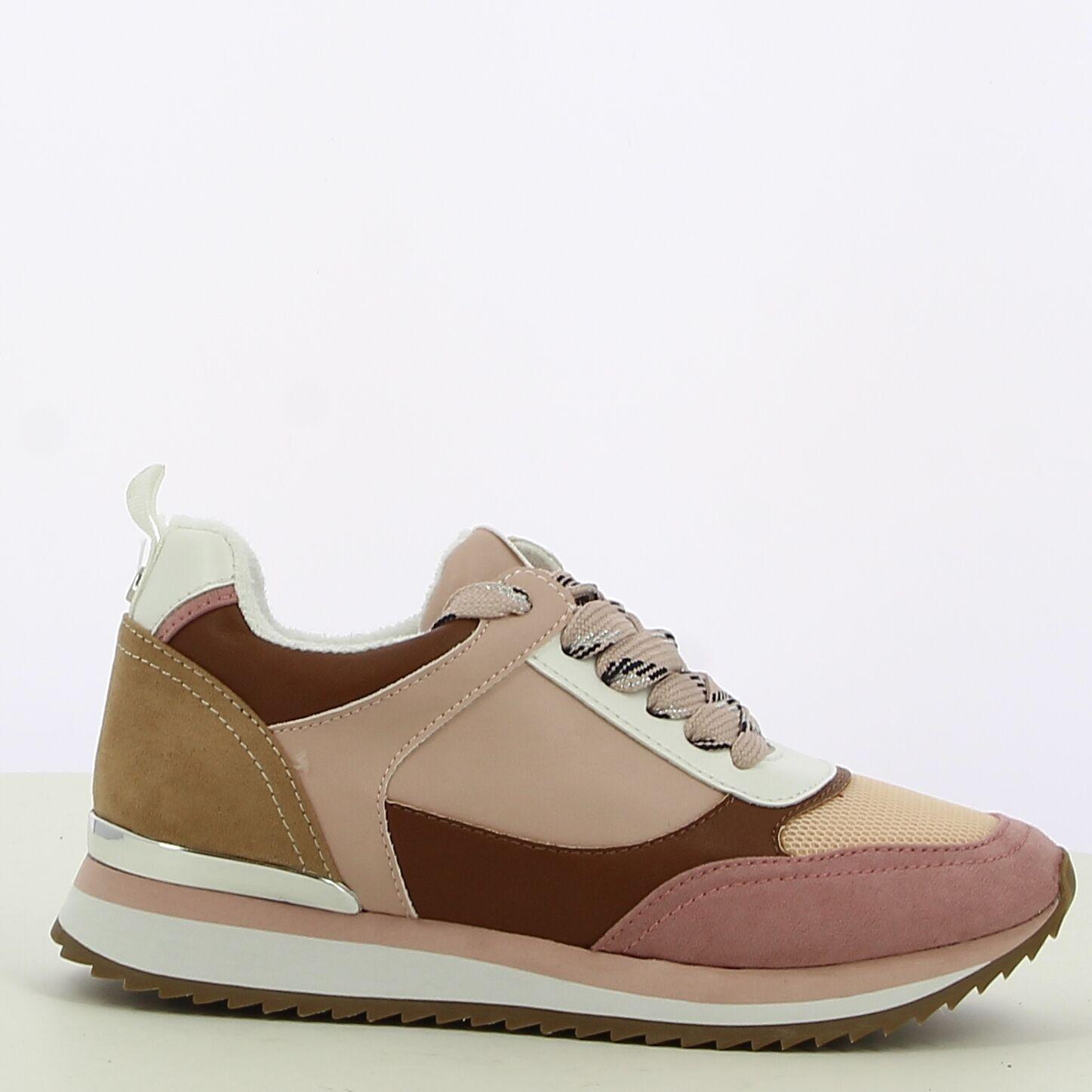 Ken Shoe Fashion - Oud Roze/Multi - Sneakers
