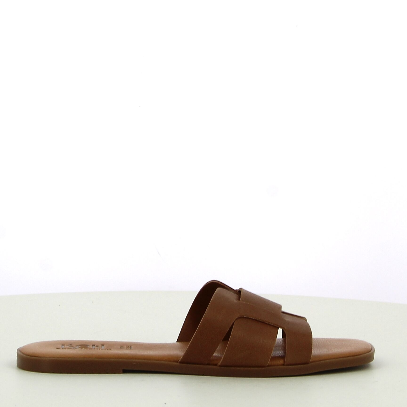 Ken Shoe Fashion - Camel - Slippers