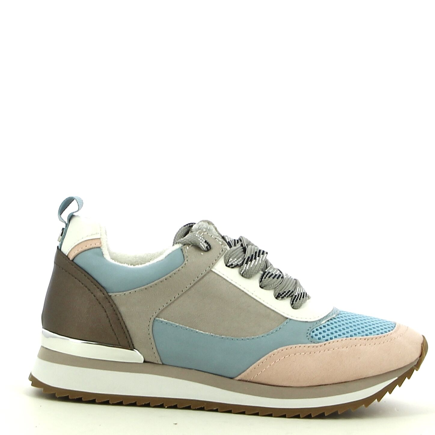 Ken Shoe Fashion - Roze/Blauw - Sneakers