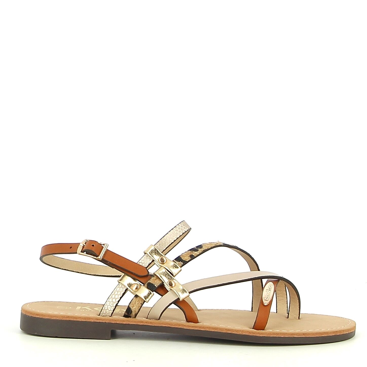 Ken Shoe Fashion - Beige/Multi - Sandalen