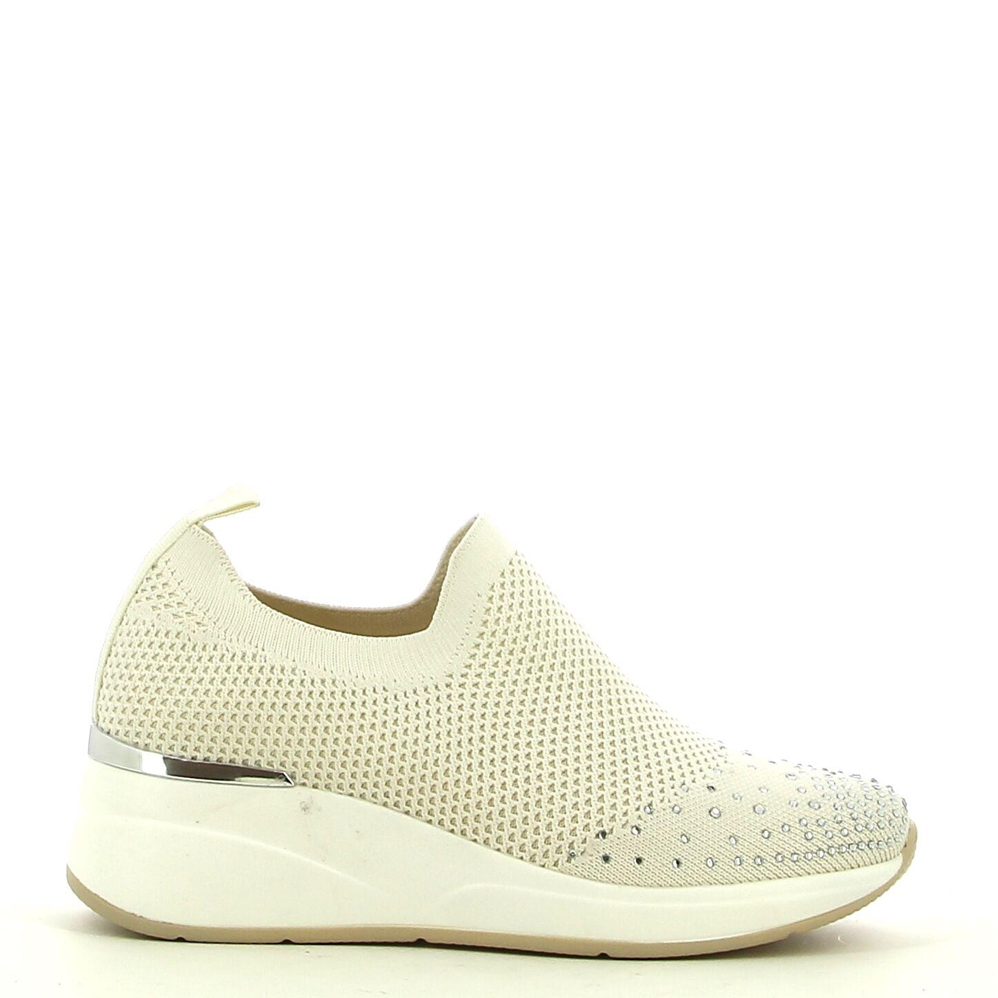 Ken Shoe Fashion - Beige met steentjes - Sneakers