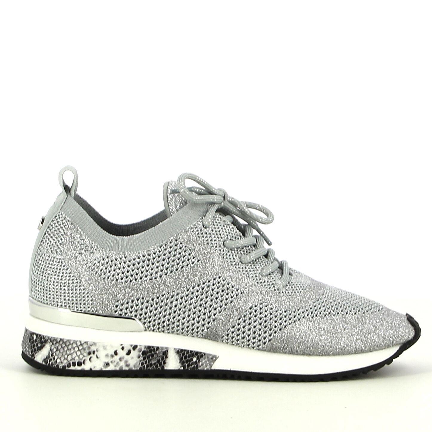 La Strada - Zilver - Sneakers