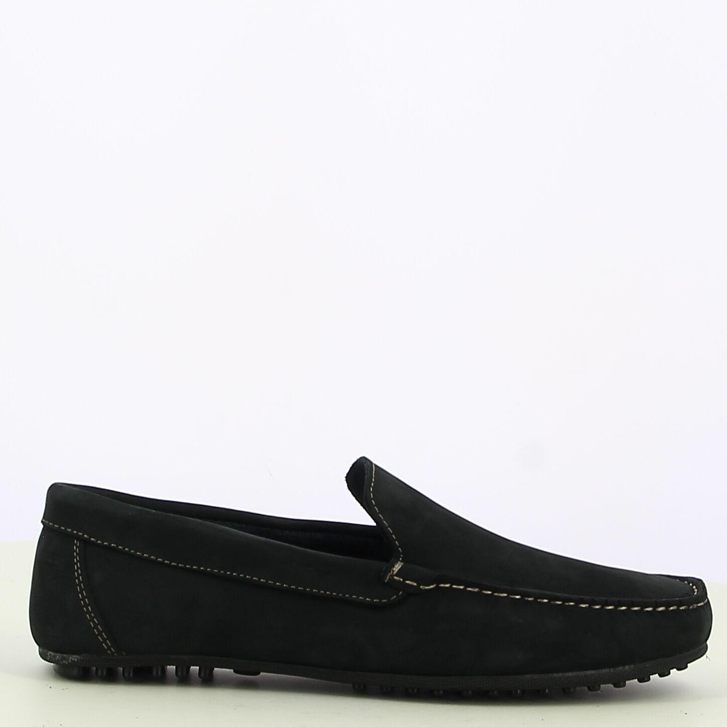 Ken Shoe Fashion - Navy mocassins
