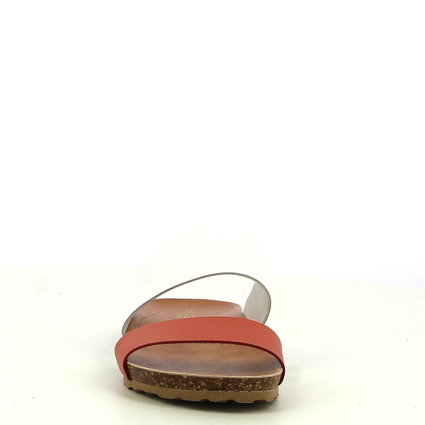 Ken Shoe Fashion - Nu-Pieds - Rouge/Blanc