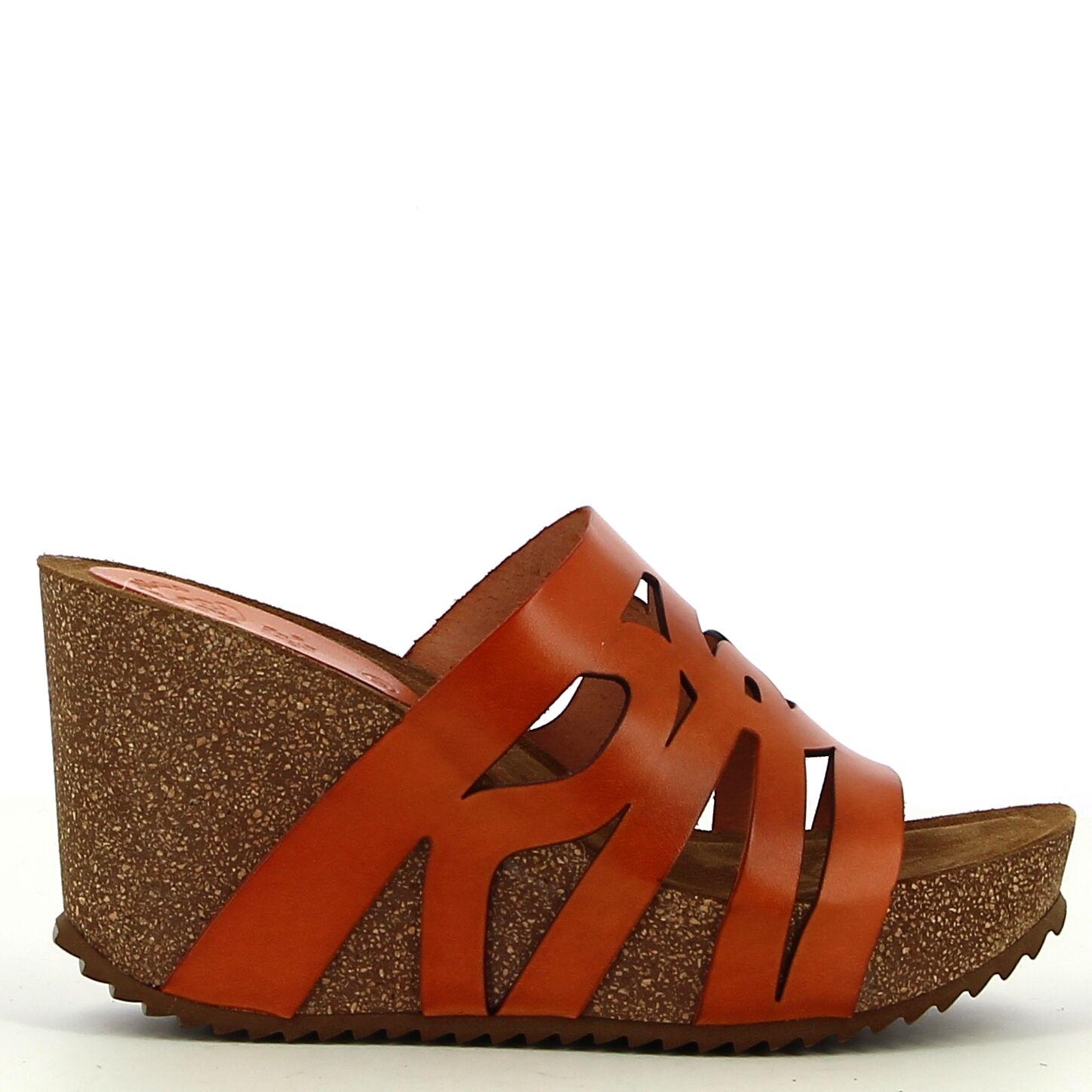 Ken Shoe Fashion - Oranje - Instappers