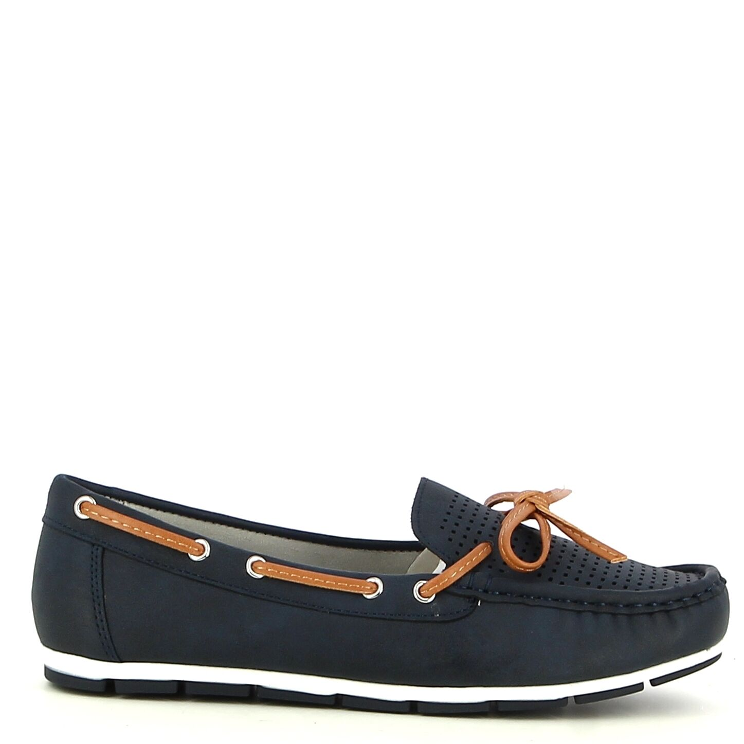 Ken Shoe Fashion - Navy - Instappers/Mocassins