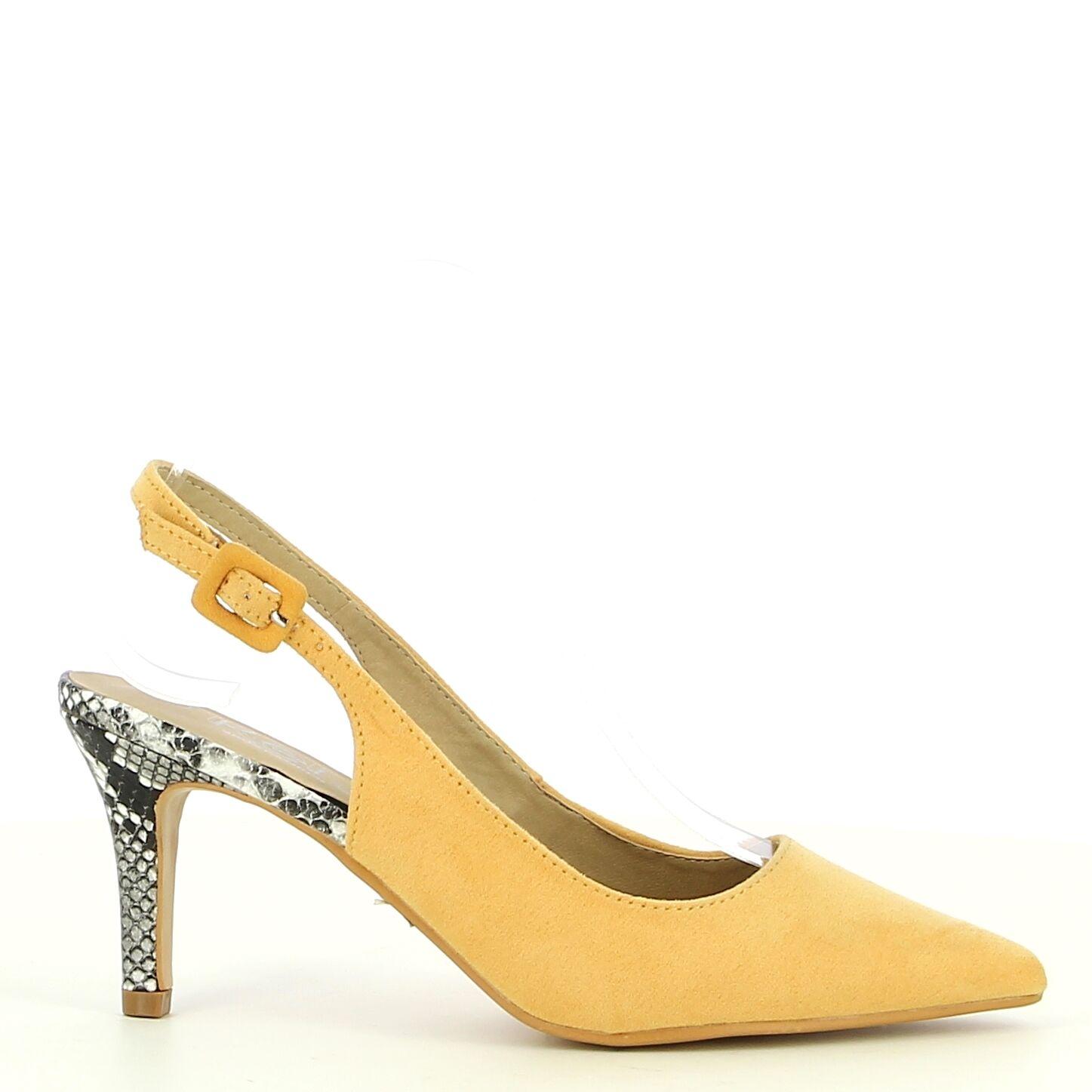 Ken Shoe Fashion - Oker/Geel - Pumps