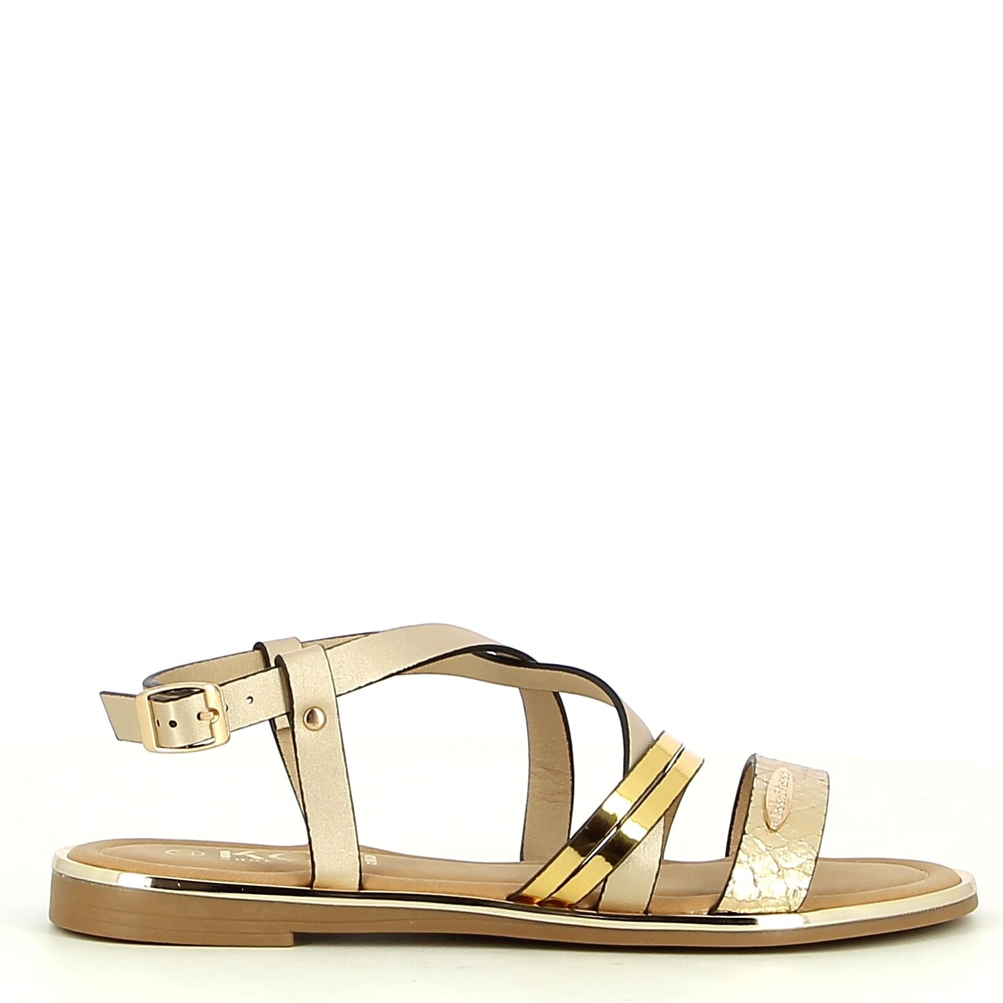 Ken Shoe Fashion - Goud - Sandalen