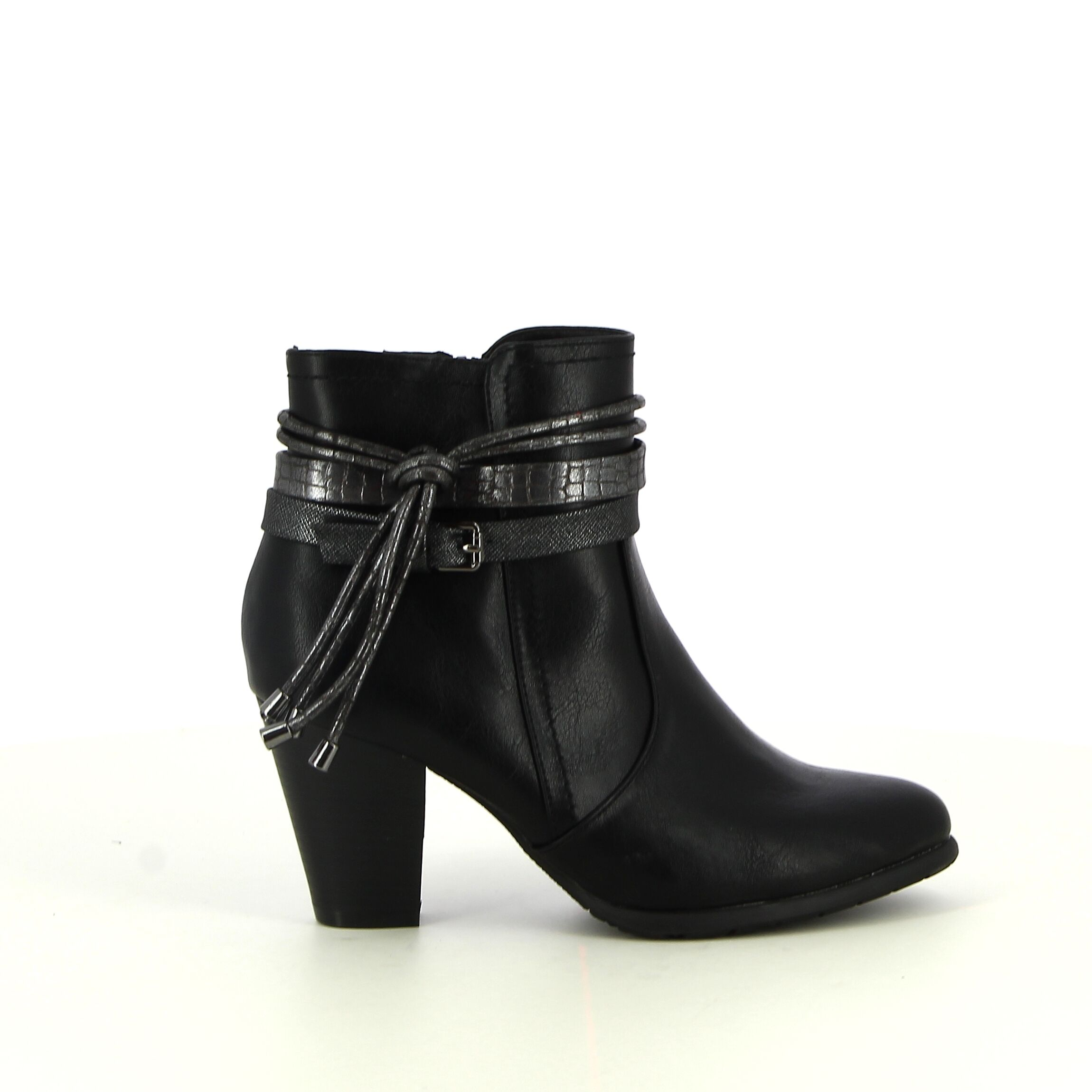 Ken Shoe Fashion - Zwart - Enkellaarsjes