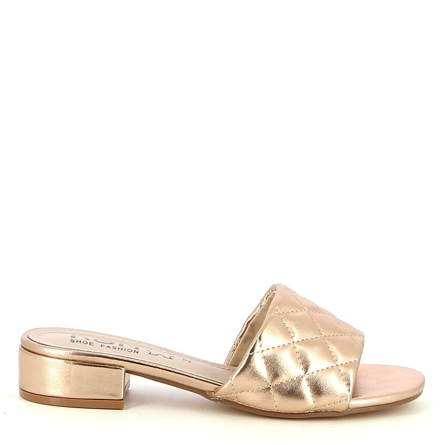 Ken Shoe Fashion - Nu-Pieds - Rose Doré