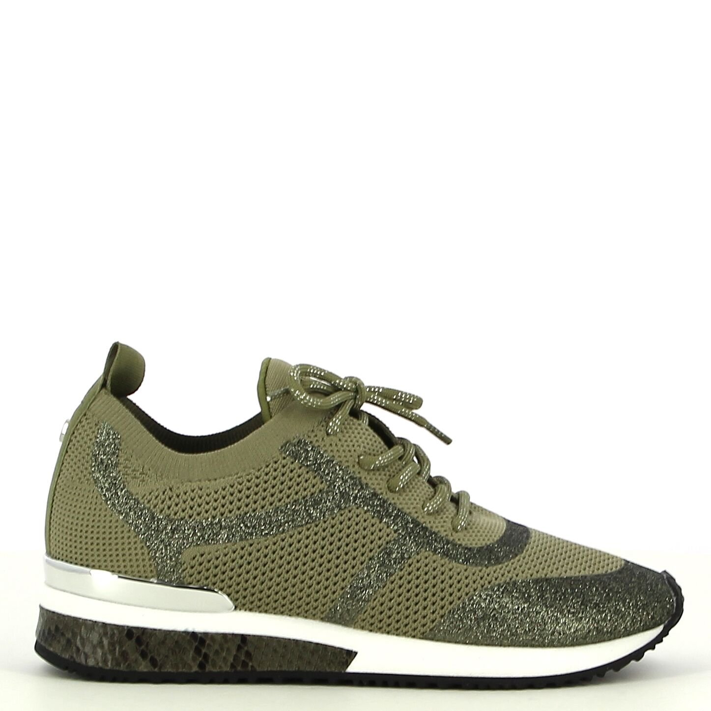 La Strada - Licht Kaki - Sneakers