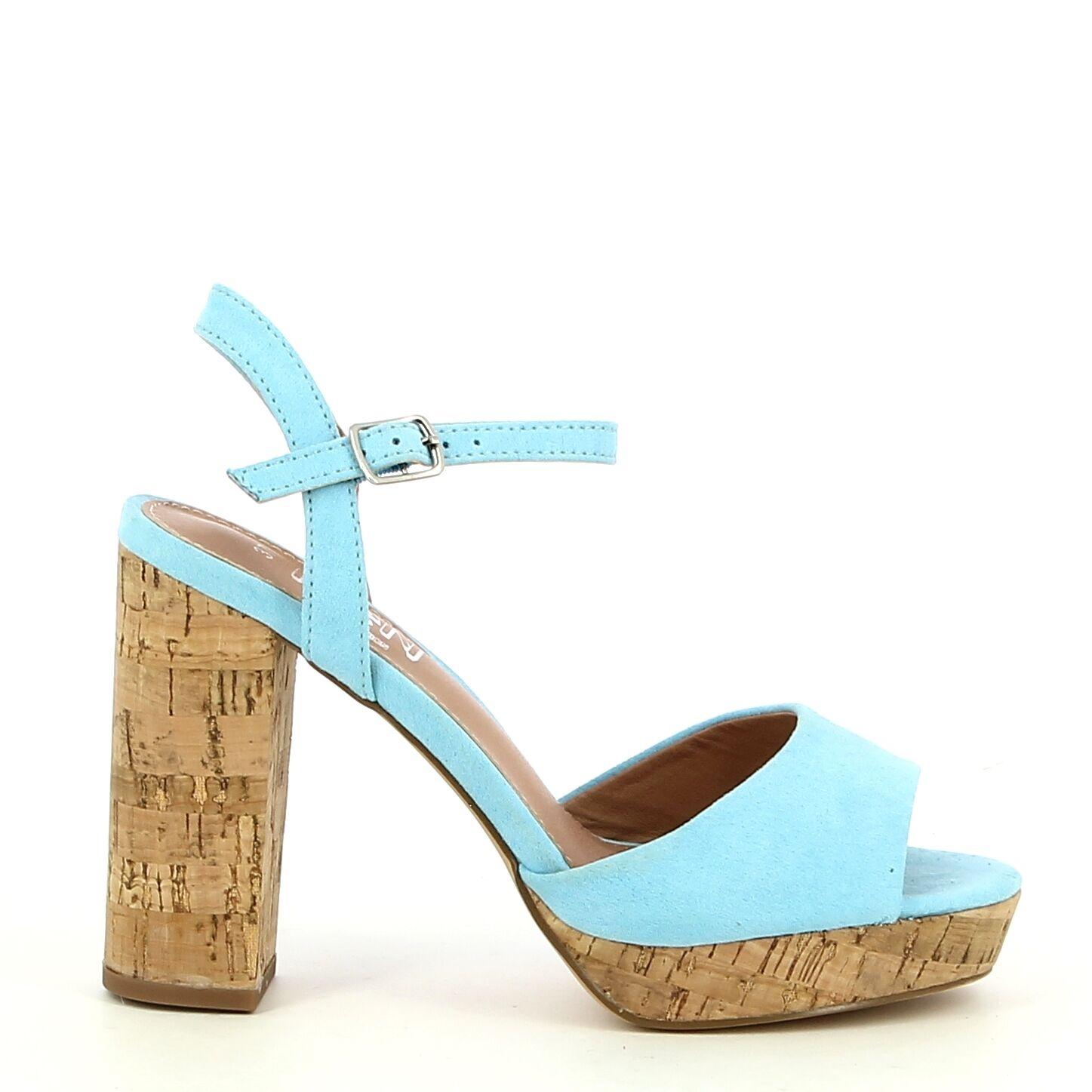 Ken Shoe Fashion - Blauw - Sandalen