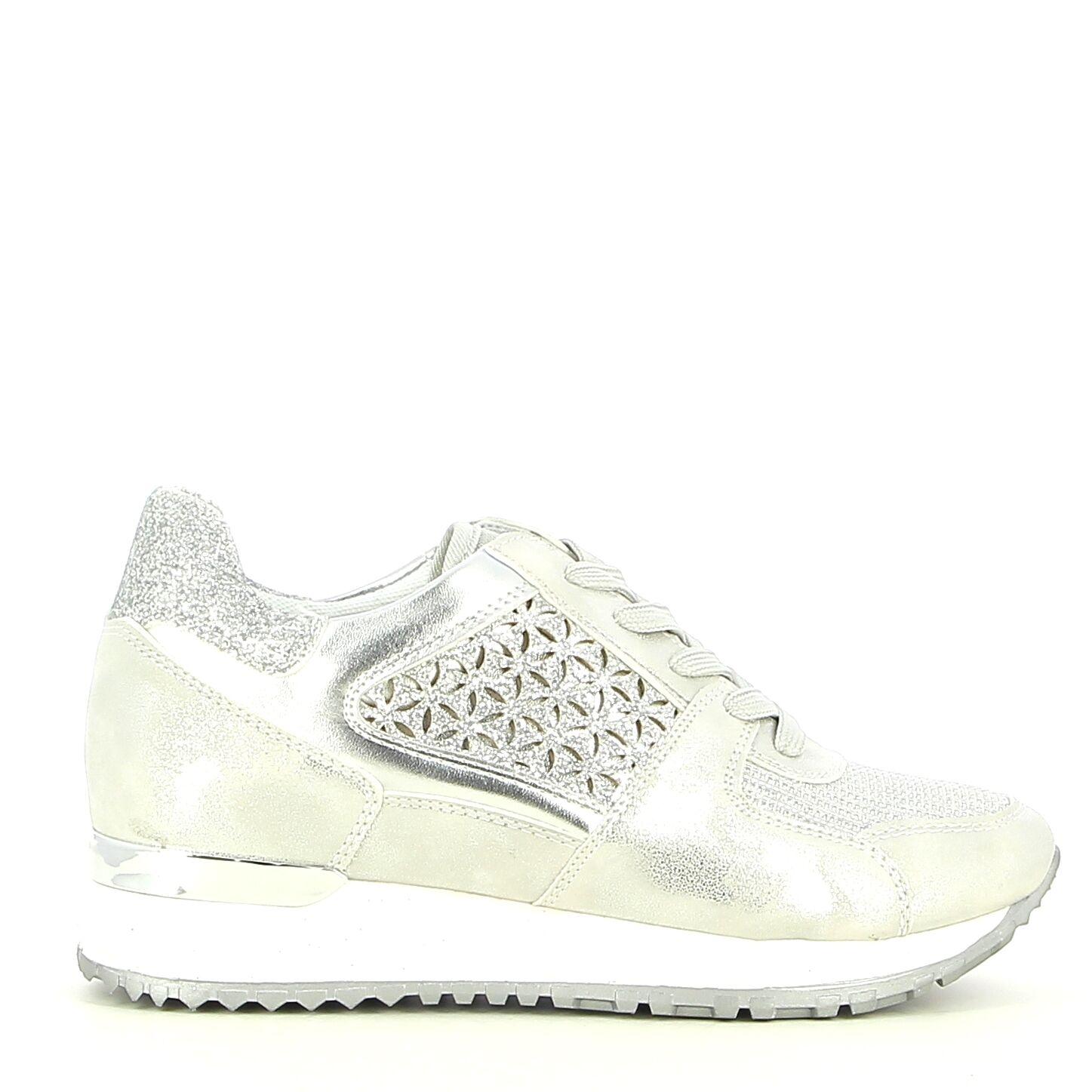 Ken Shoe Fashion - Zilver - Sneakers