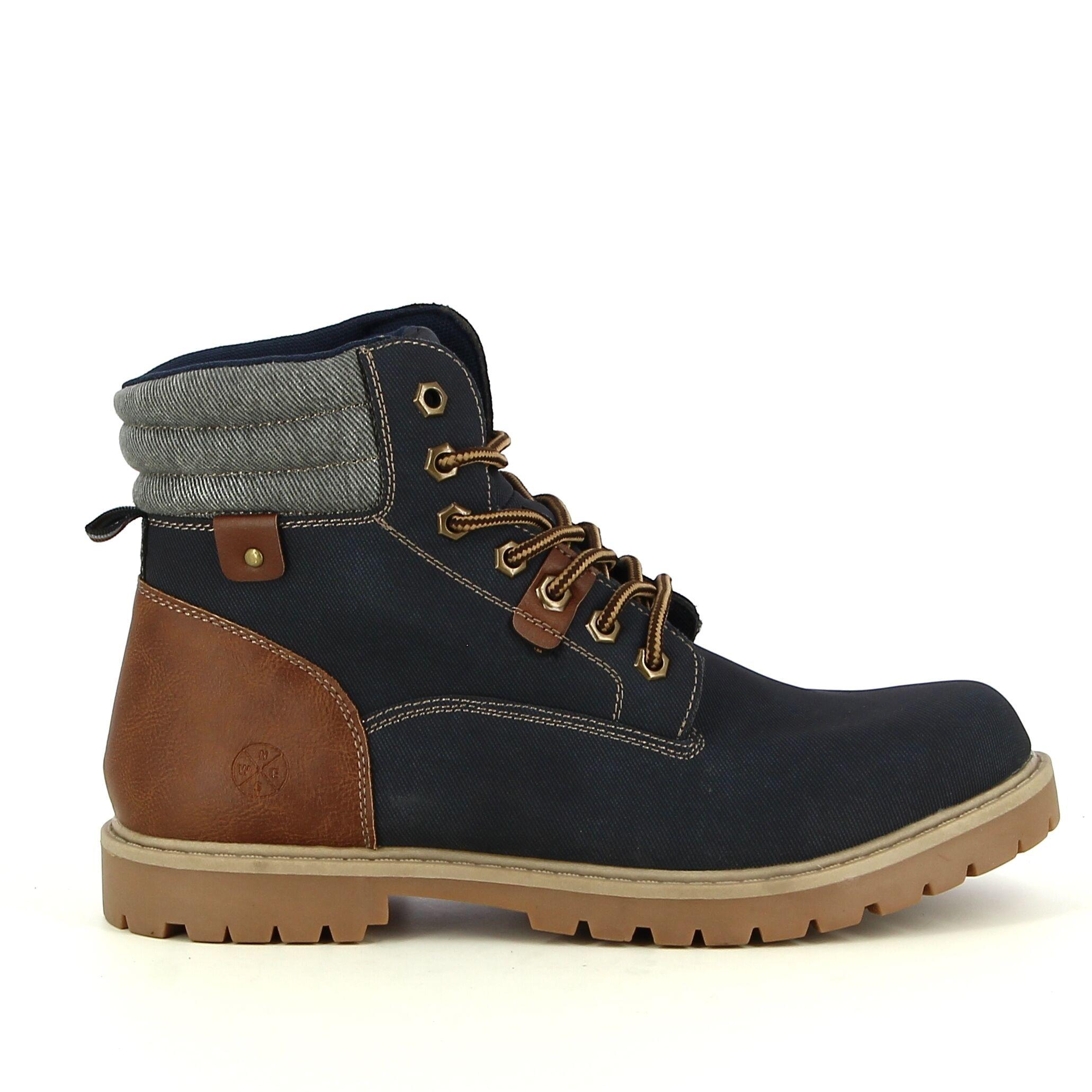 Ken Shoe Fashion - Navy - Boots