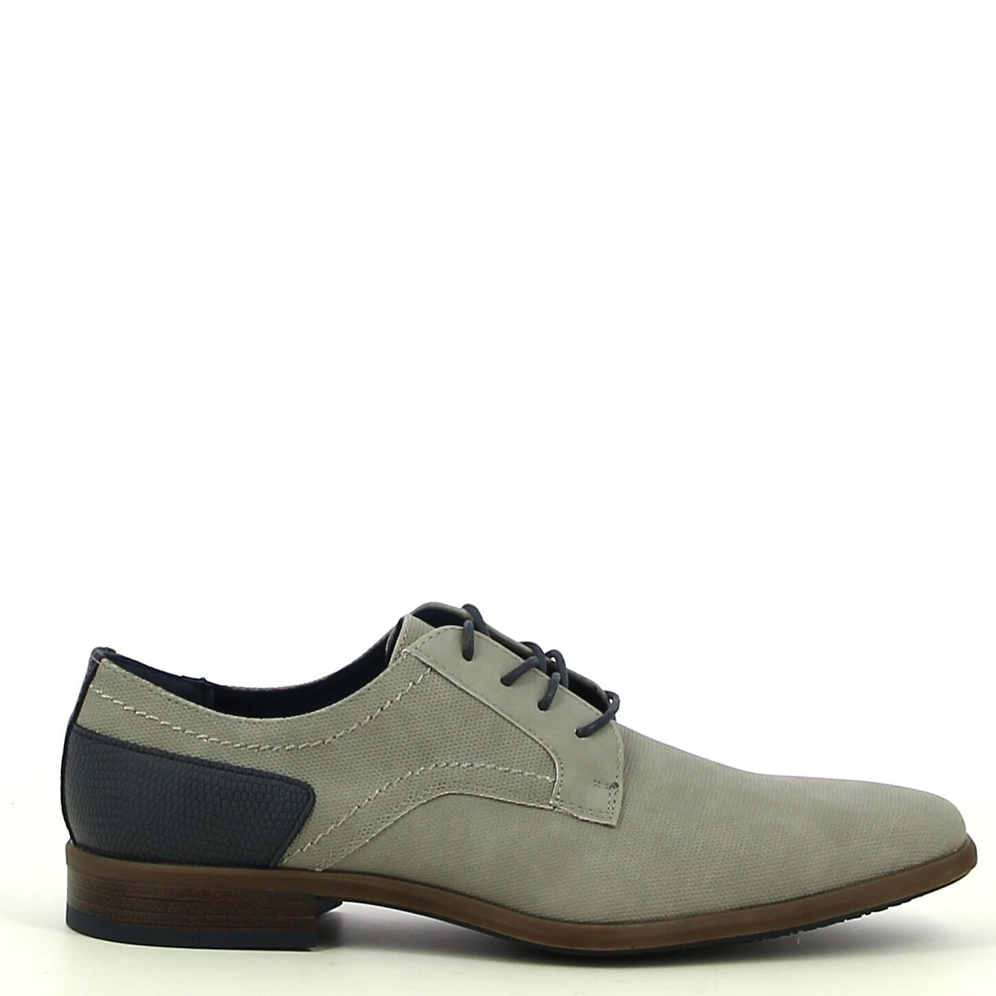 Ken Shoe Fashion - Grijs - Veterschoenen