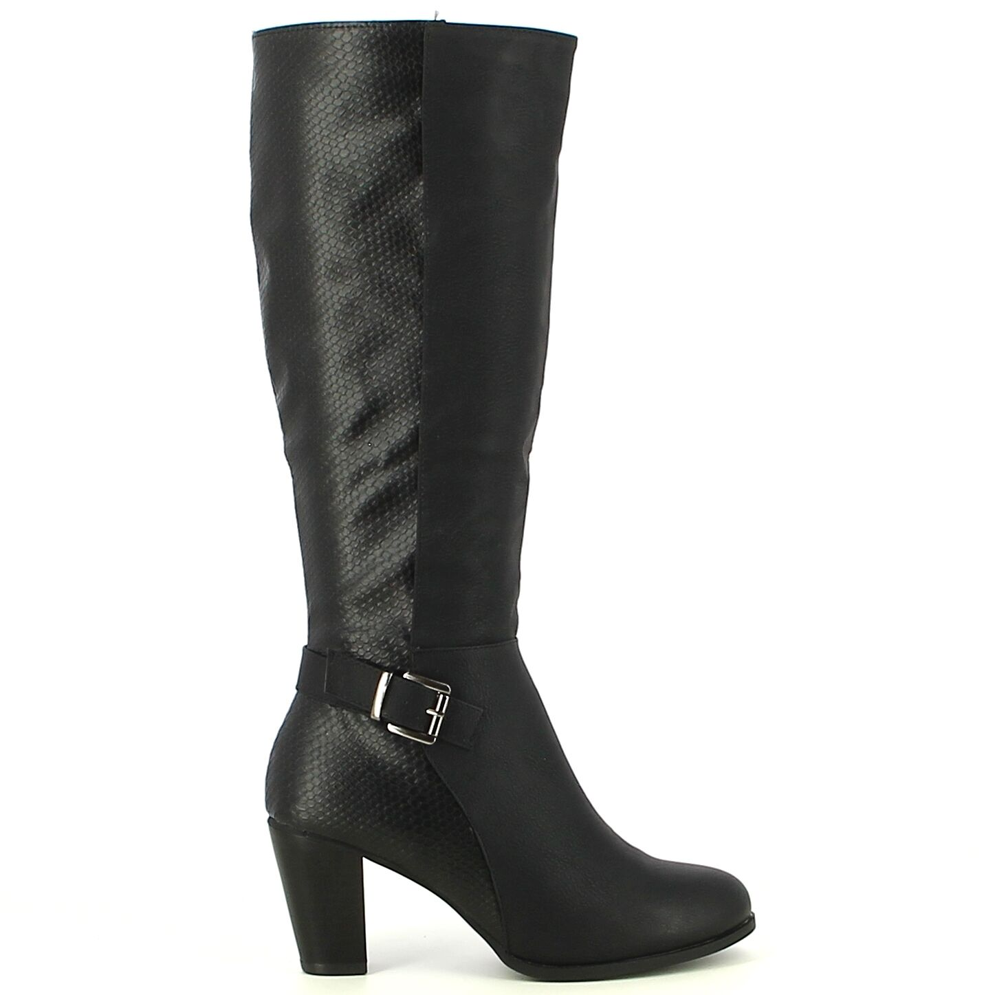 Ken Shoe Fashion - Zwart - Laarzen