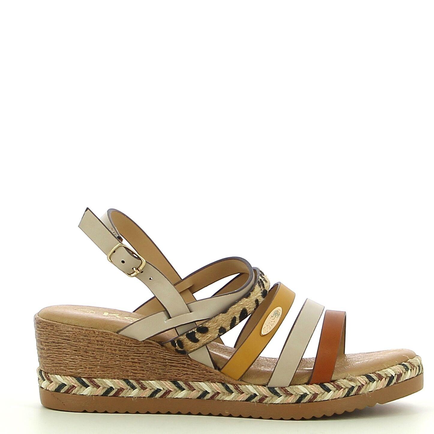Ken Shoe Fashion - Beige/Multi - Sandalen