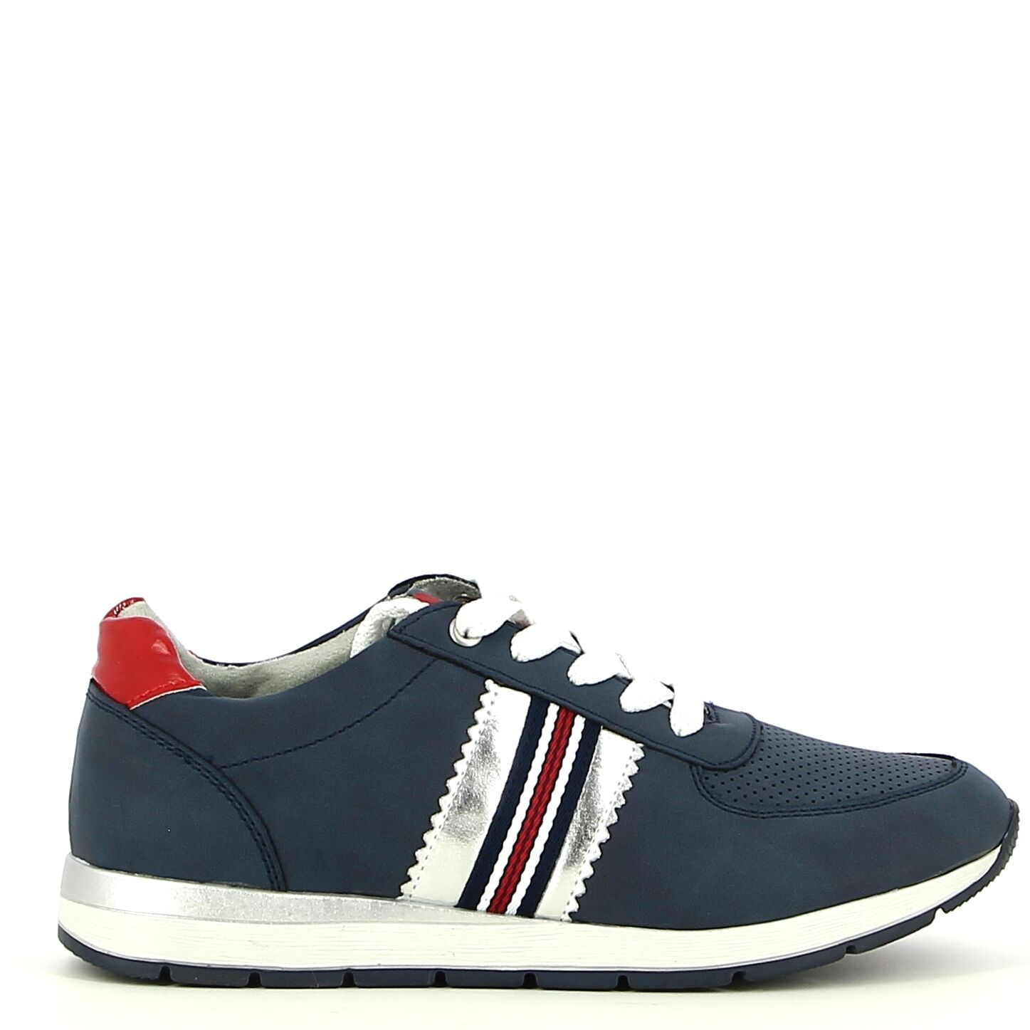 Ken Shoe Fashion - Baskets - Bleu Foncé