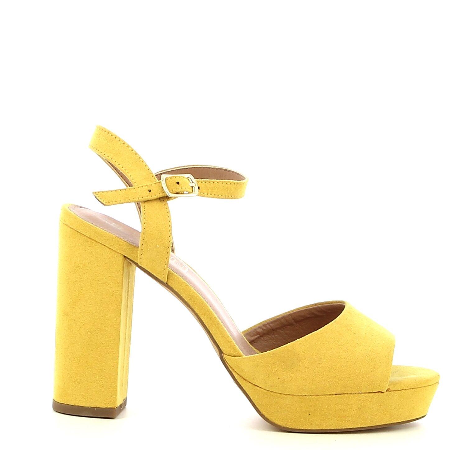 Ken Shoe Fashion - Geel - Sandalen