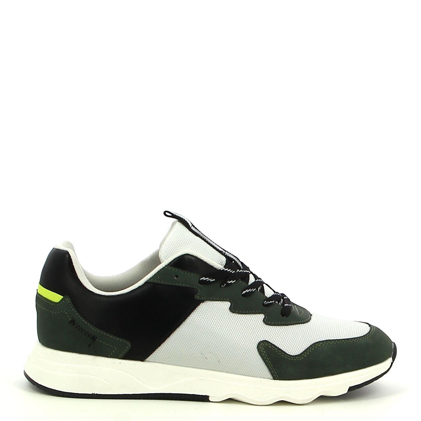 Ken Shoe Fashion - Kaki/Wit - Sneakers
