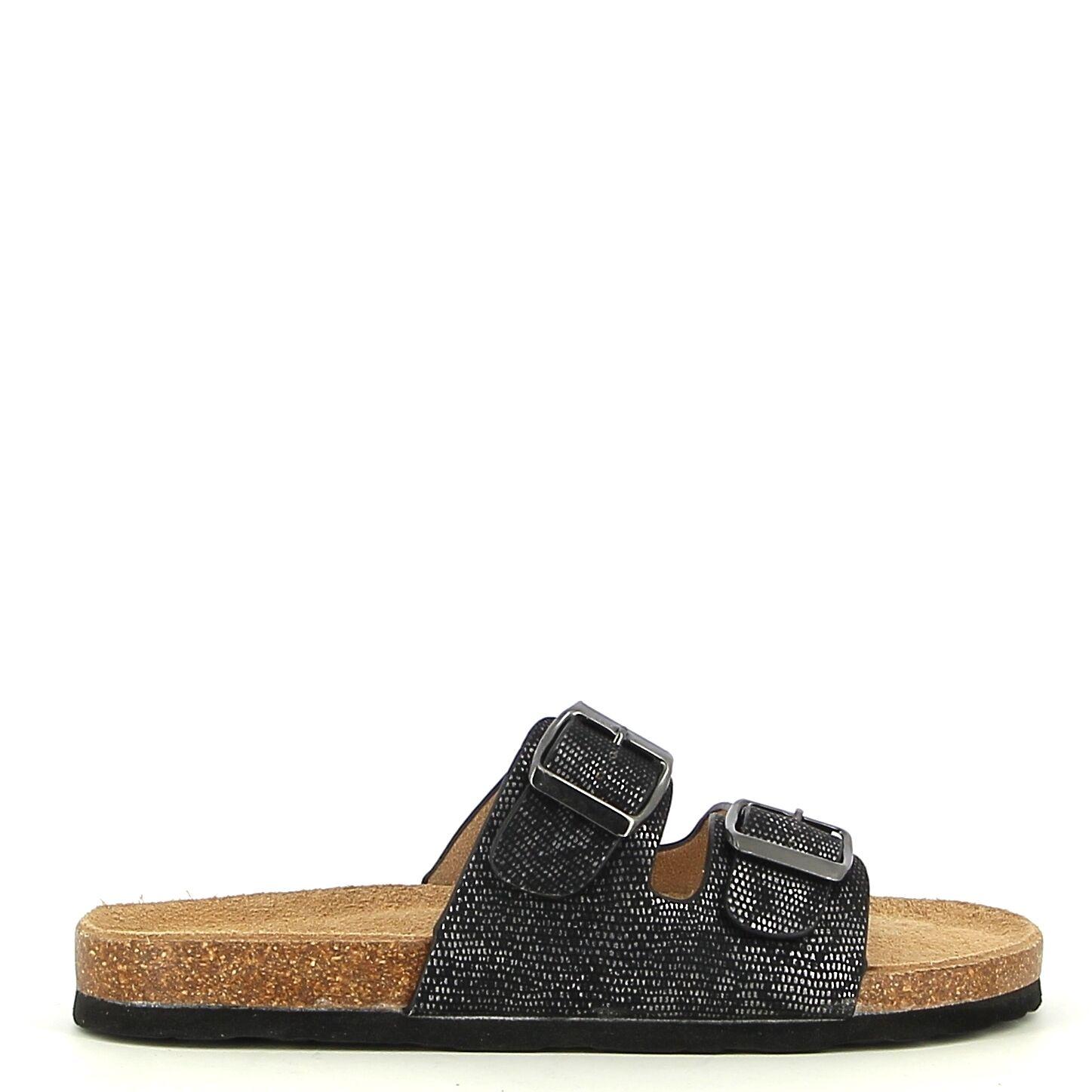Ken Shoe Fashion - Zwart - Instappers